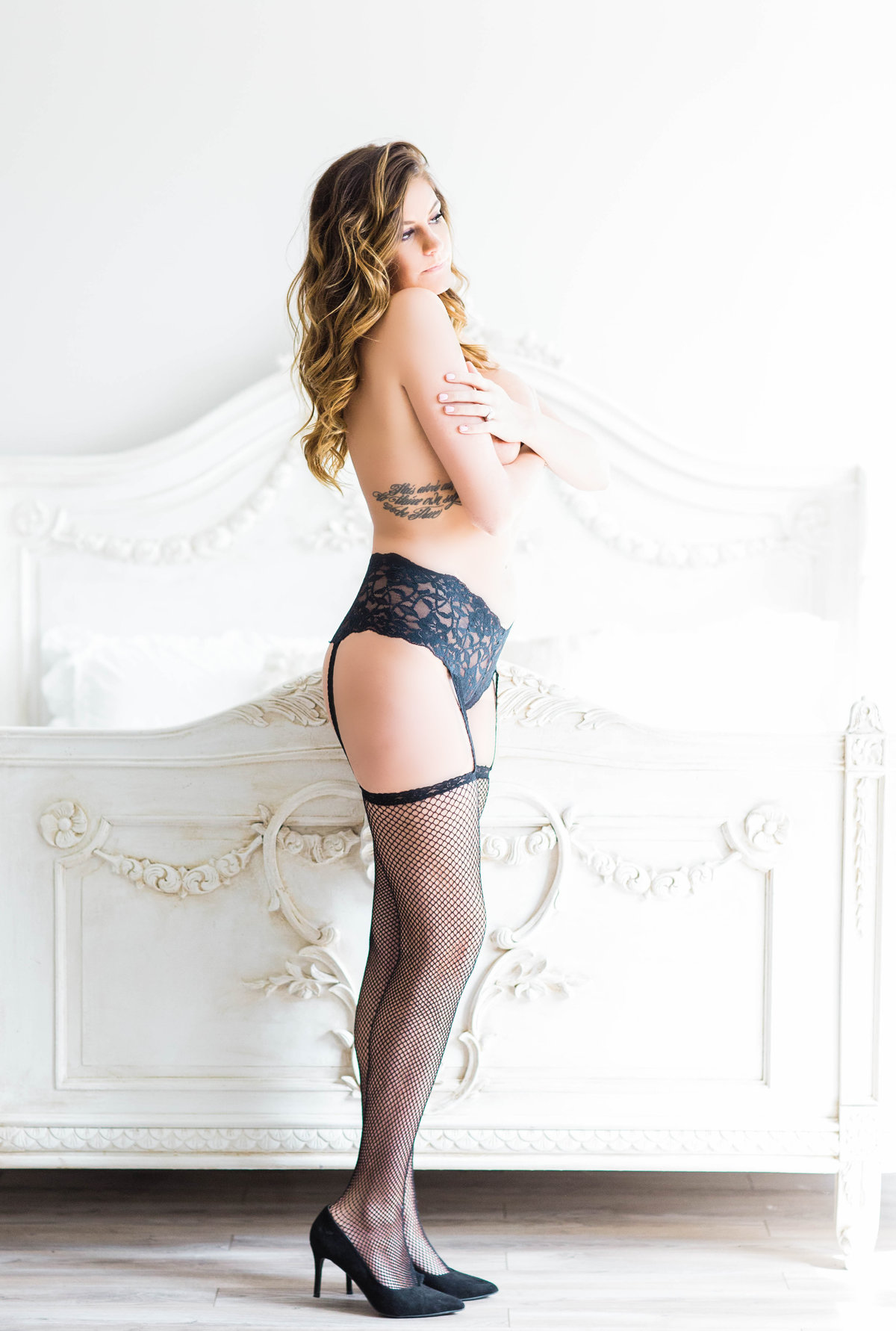 sexy boudoir photographer in Virginia
