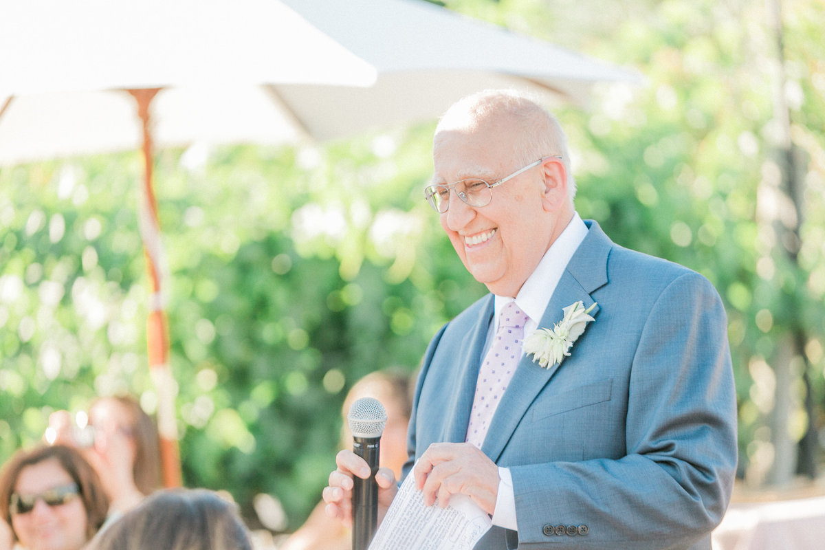 Garden Wedding Reception Speech