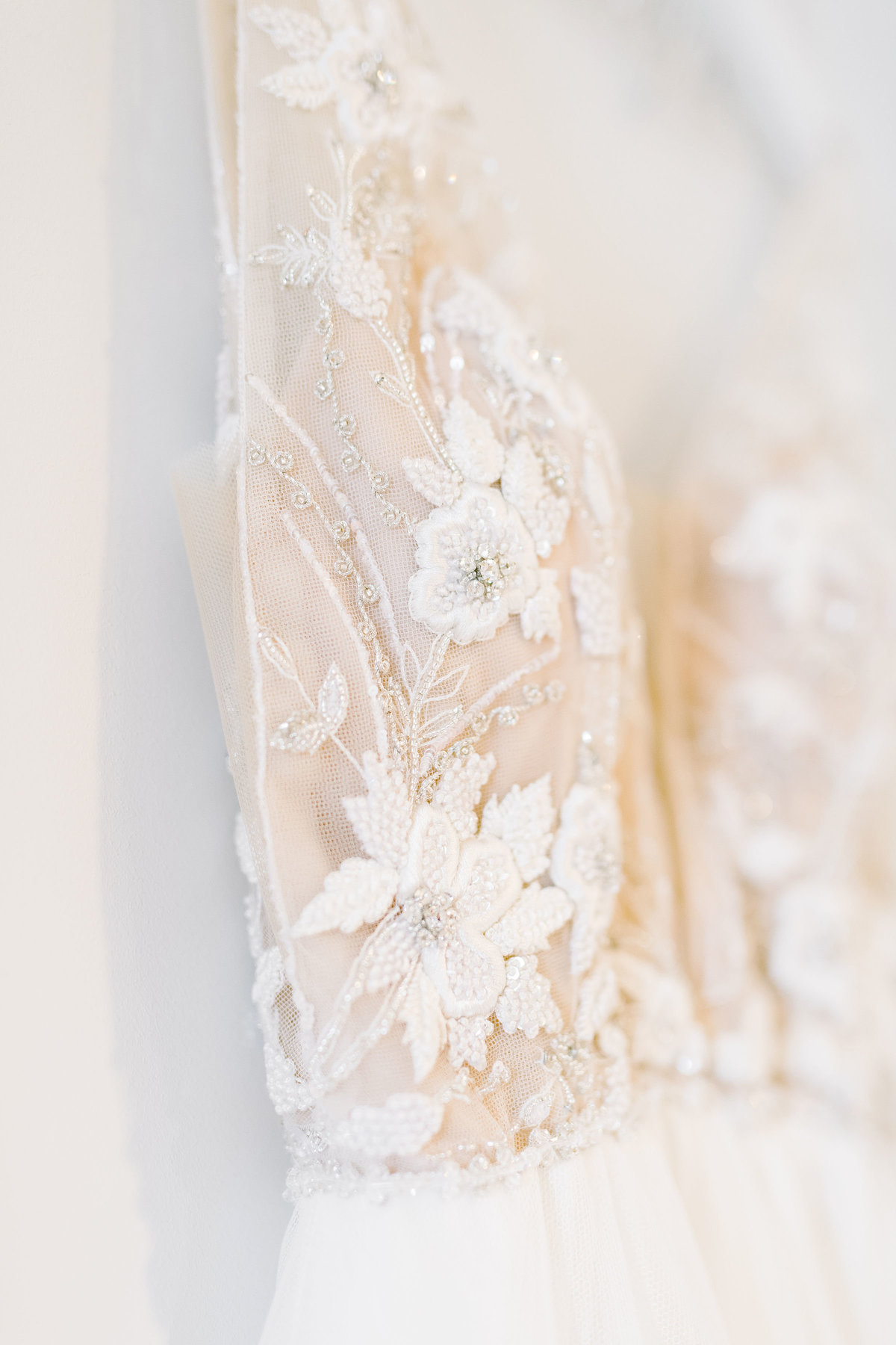 Lace Applique Charleston Wedding Gown