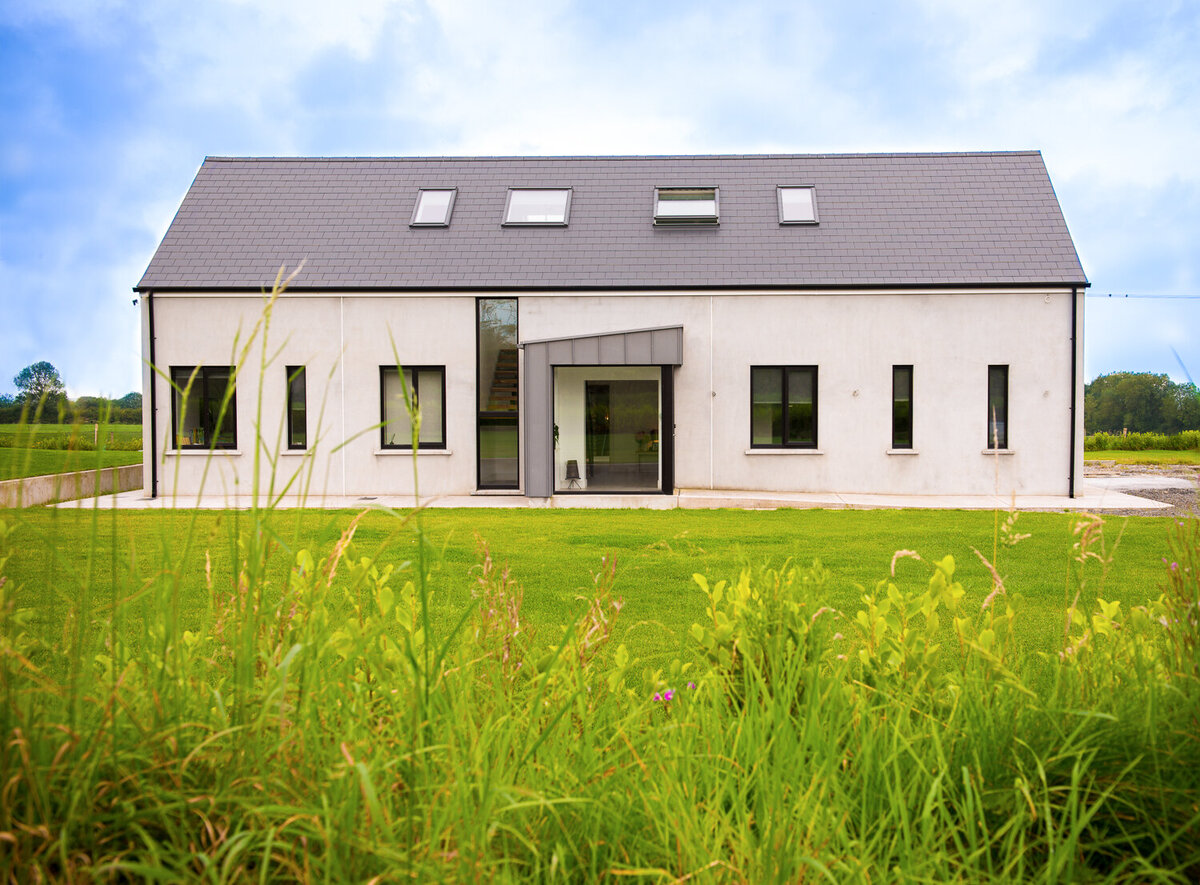 Architect designed dormer house in Kerry