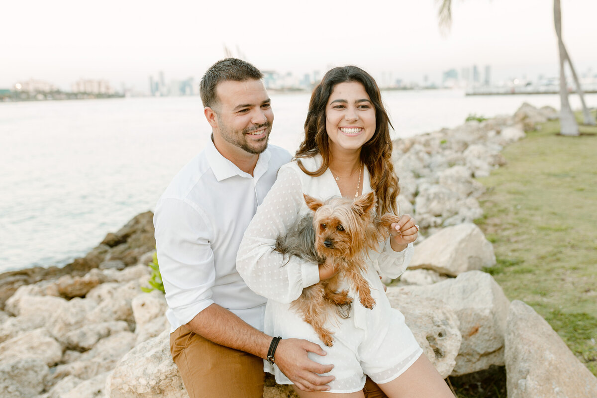 South Pointe Park Engagement Photography Session 4