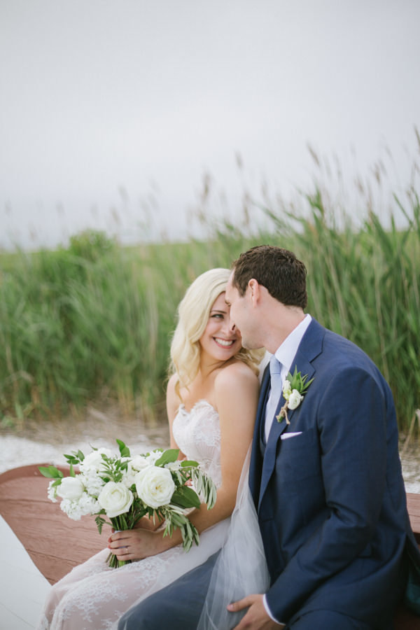 simple and classic nj beach wedding