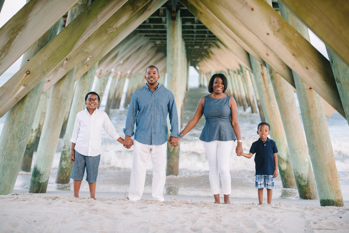 Garden City Beach Family Photography in South Carolina