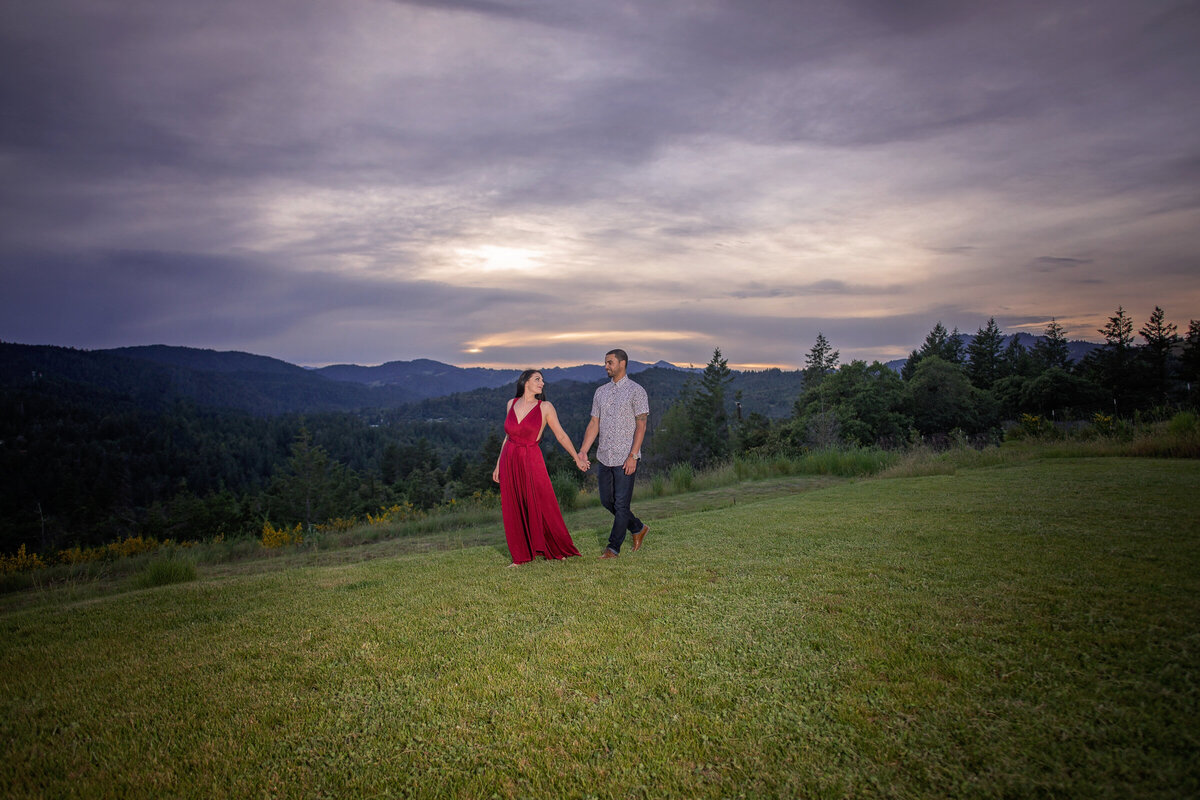 -Humboldt-County-Engagement-Photographer-Redway-Photographer-Parky's Pics-sunset-river-engagement-10