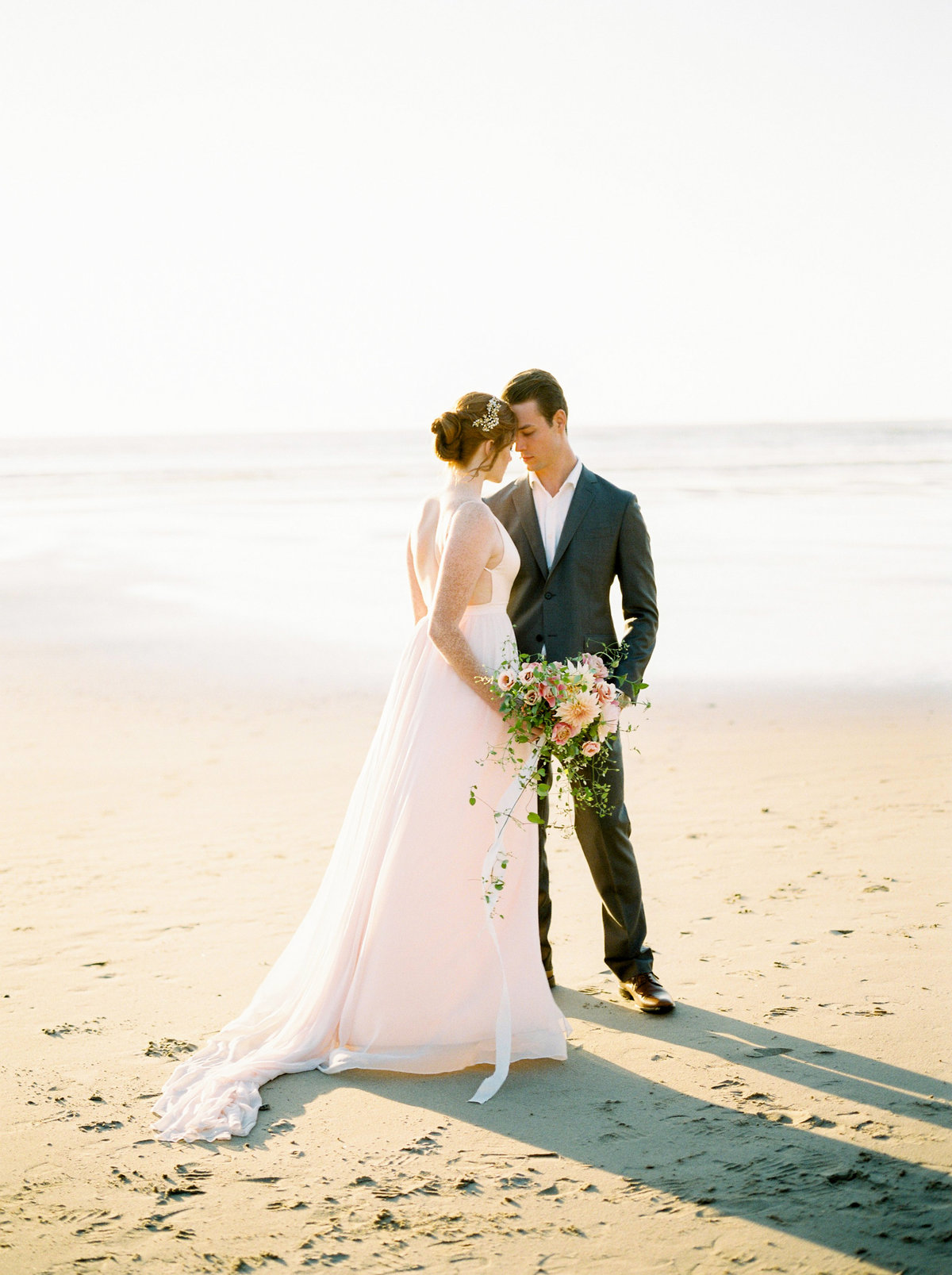 wedding elopement cannon beach