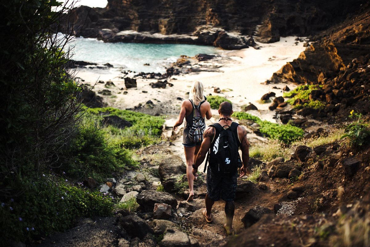 Eternity Beach Honolulu Hawaii Destination Engagement Session - 1