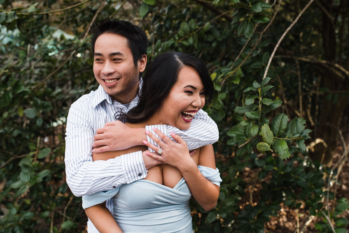 Birmingham Botanical Gardens Engagement Session BANG Images