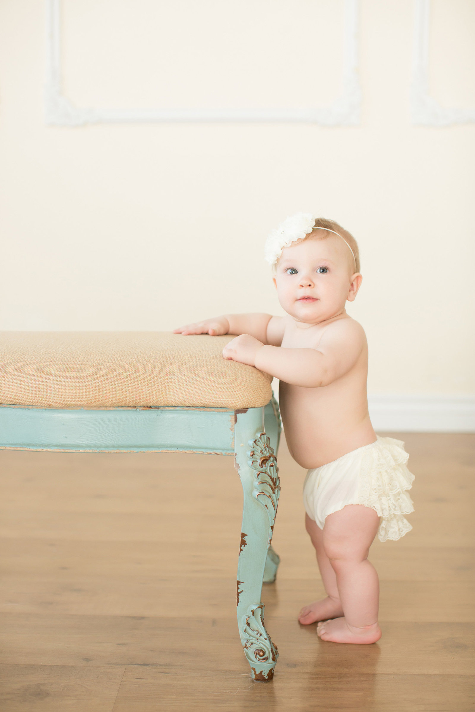 ruffle diaper cover girls photographer
