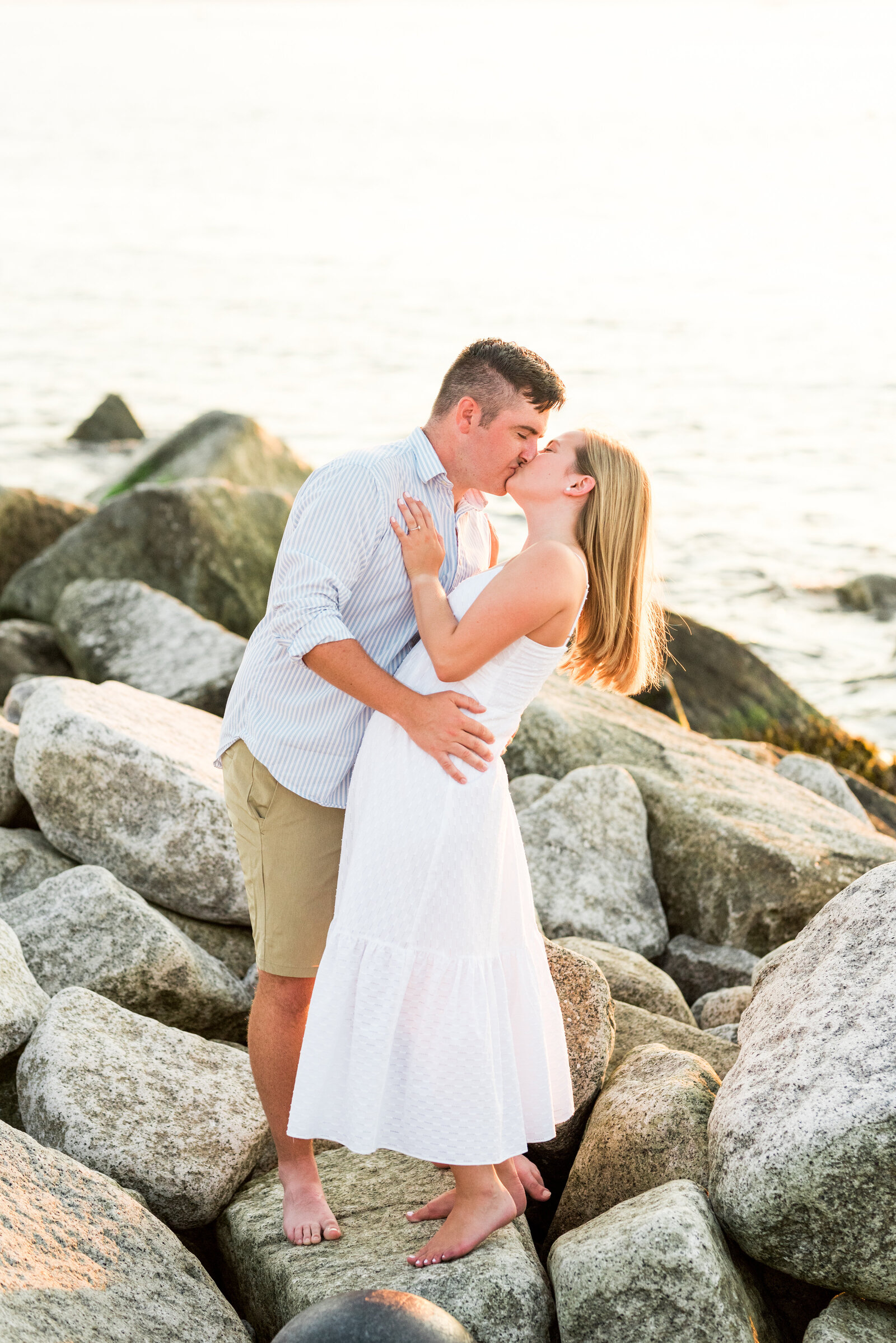 Rocky Coast Engagement