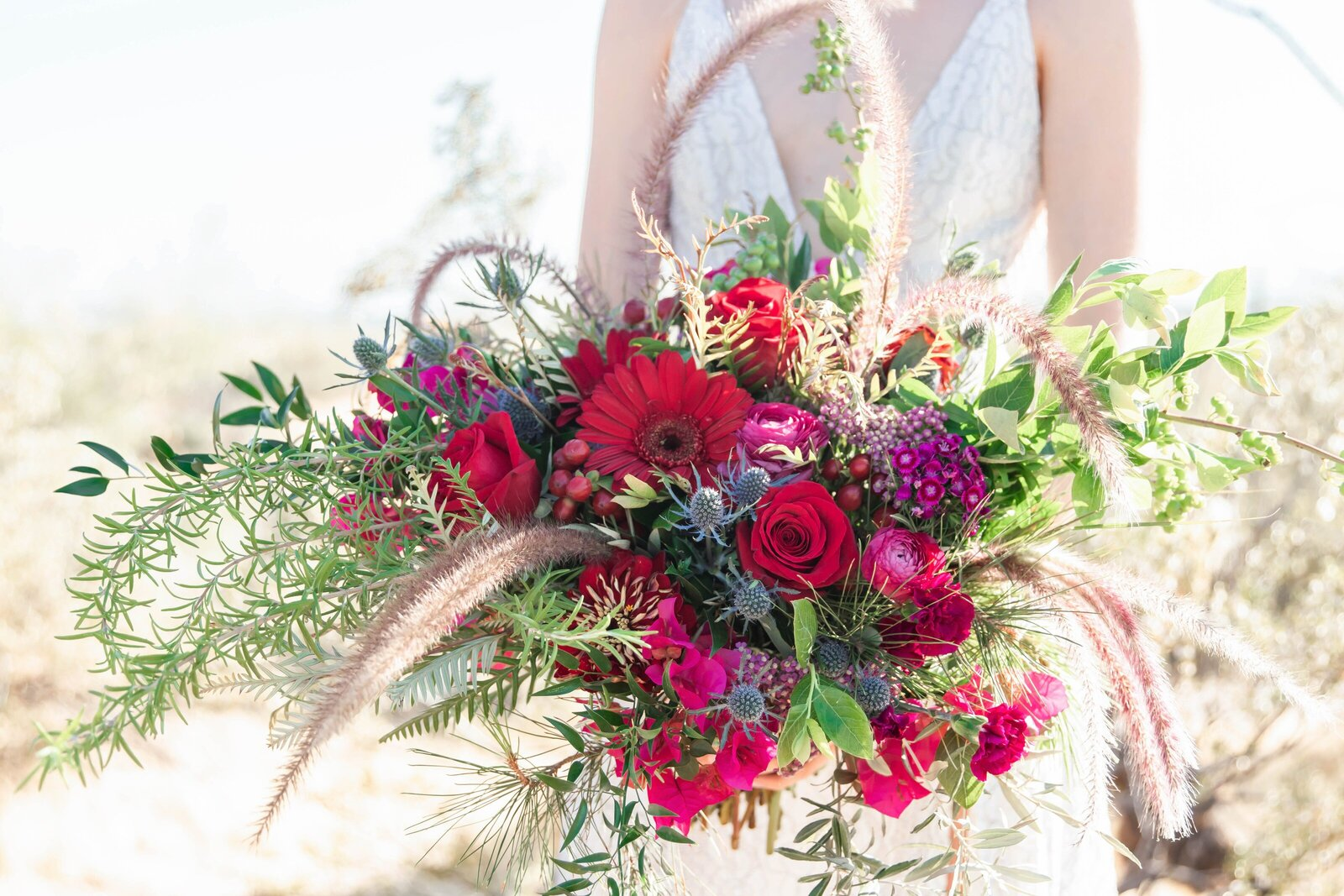 red-bridal-bouquet