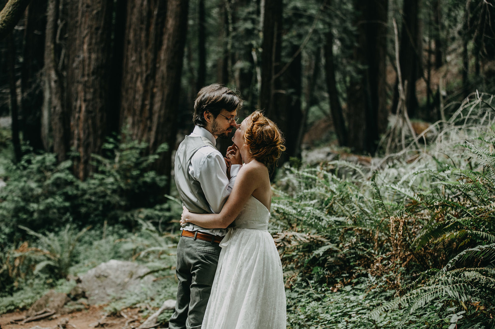 Hoh Rainforest Elopement Photographer