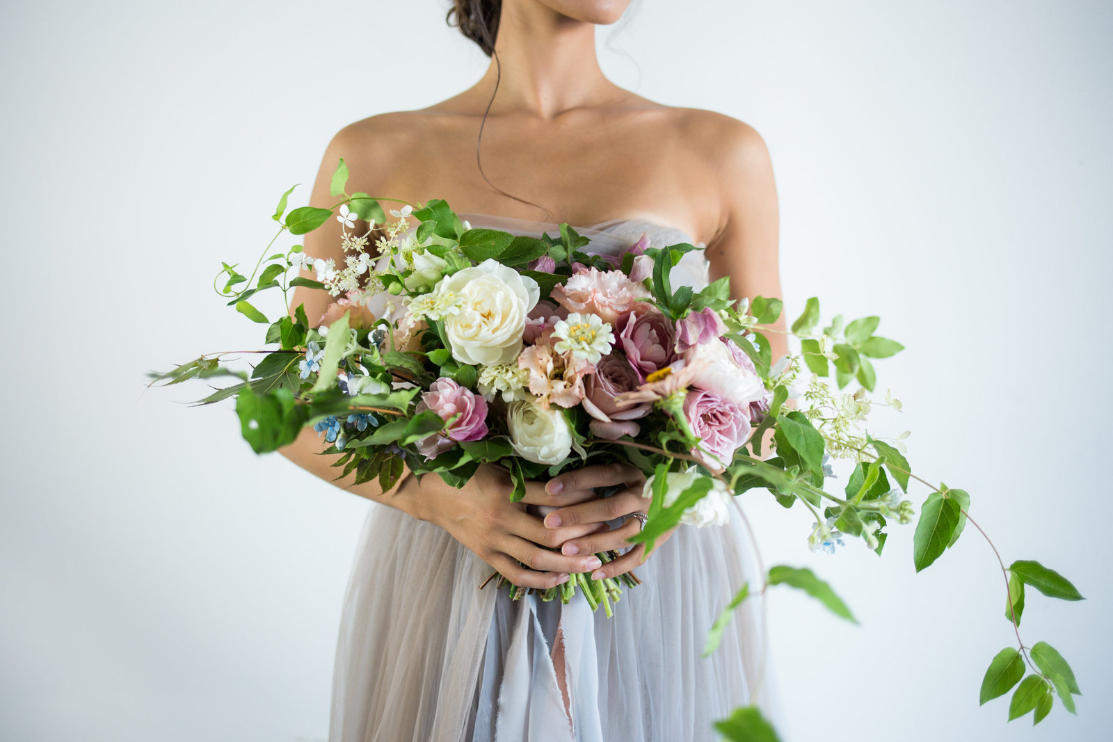 Bridal Portrait Wedding Bouquet