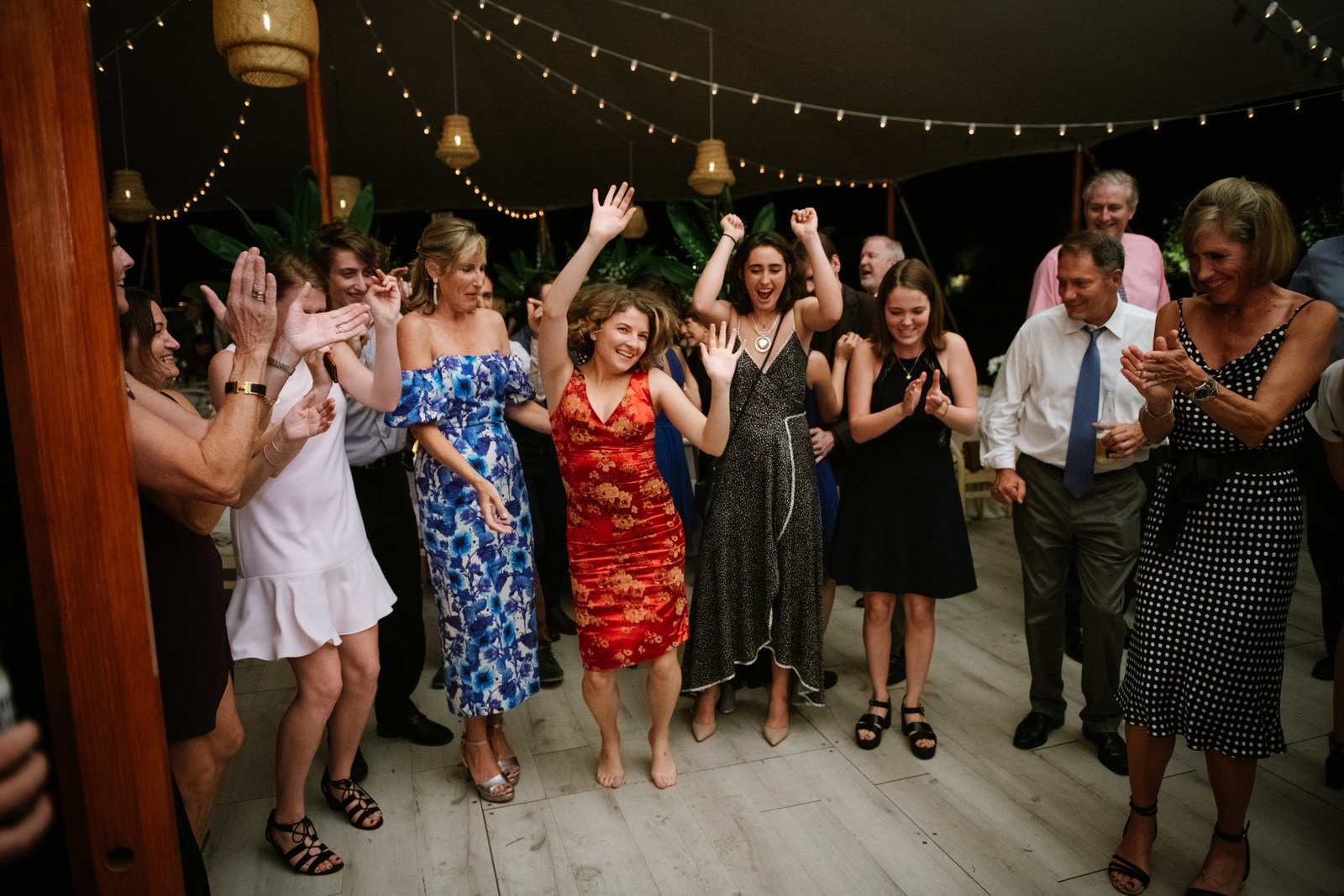 Wedding Dance Tented Home Wedding_Boho Wedding_Darien_Connecticut 1