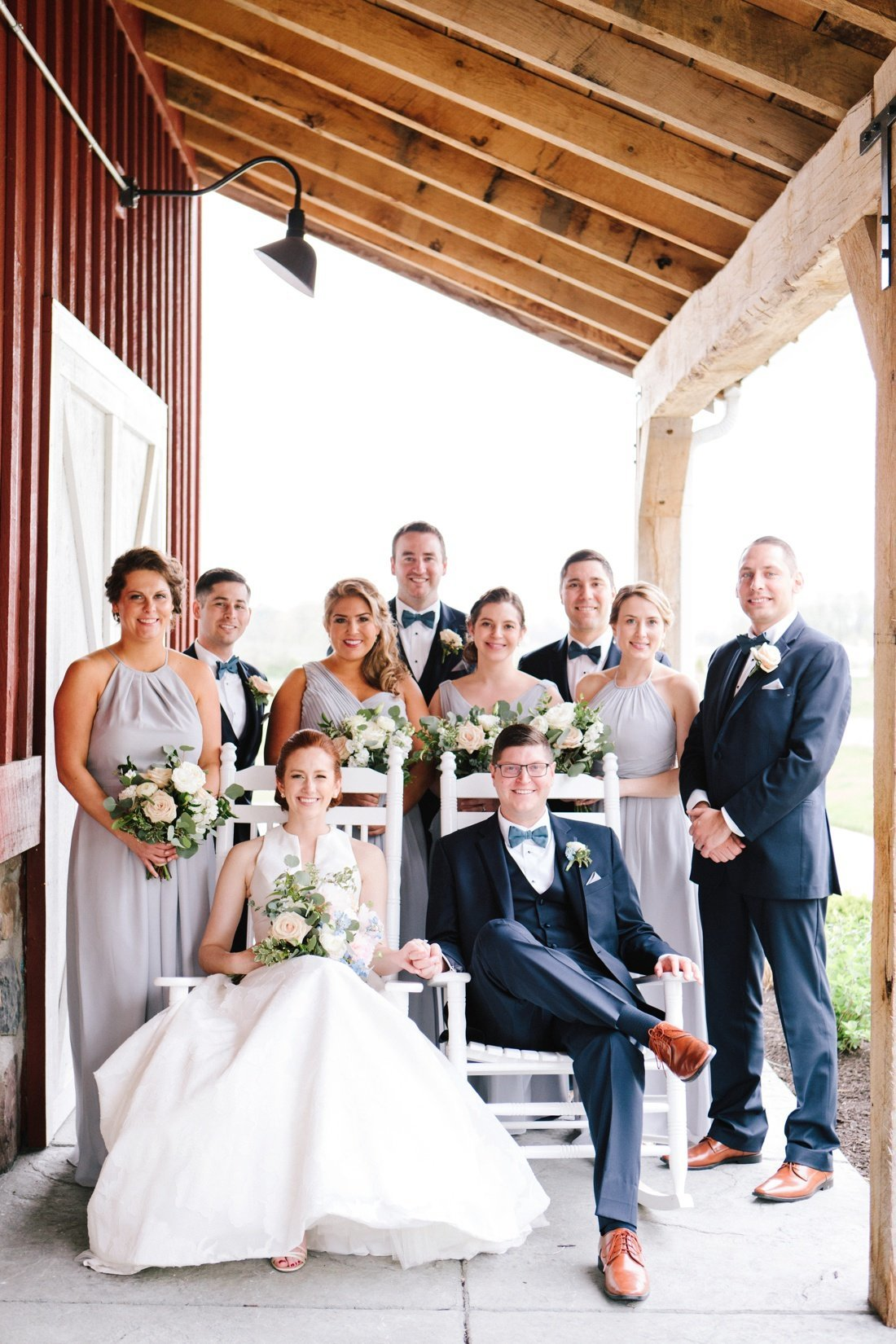 lindley farmstead at chatham hills wedding