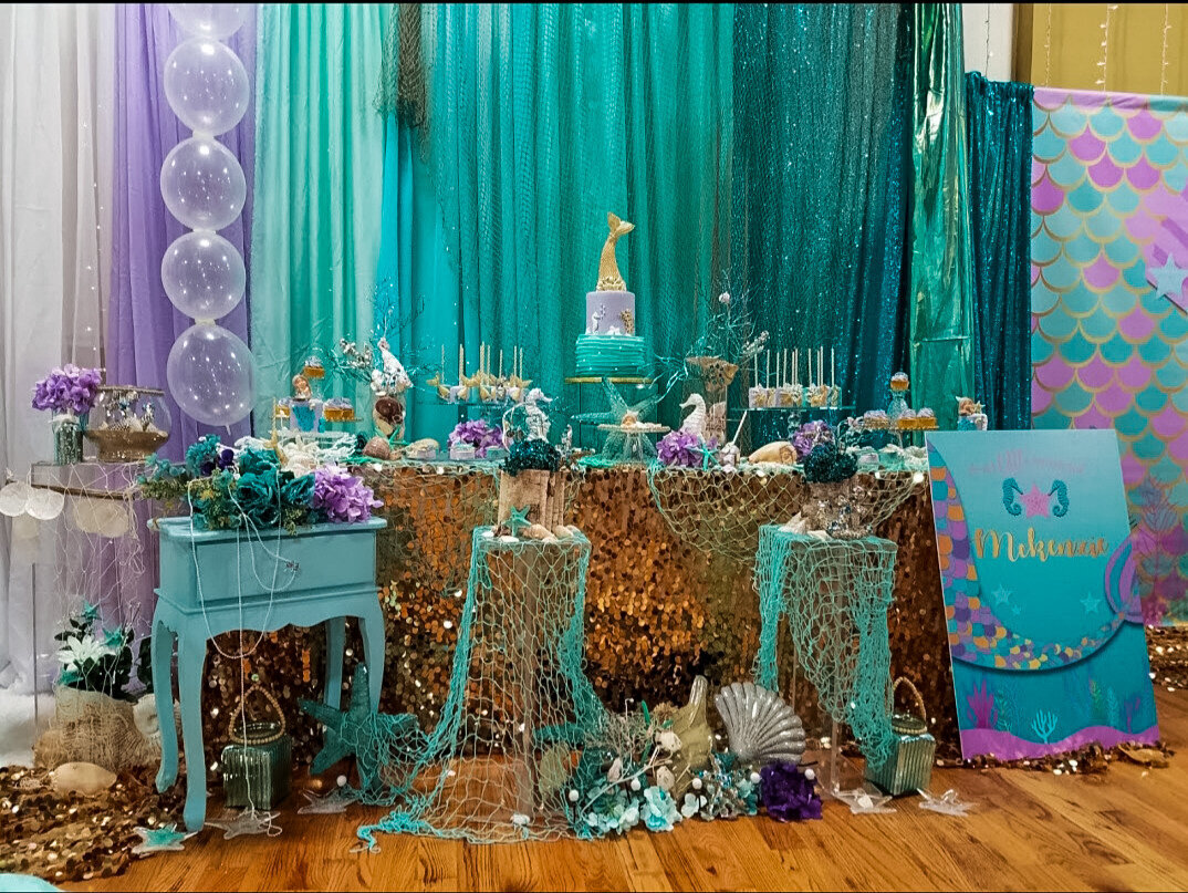 Babyshower mermaid under the sea nyc event planner