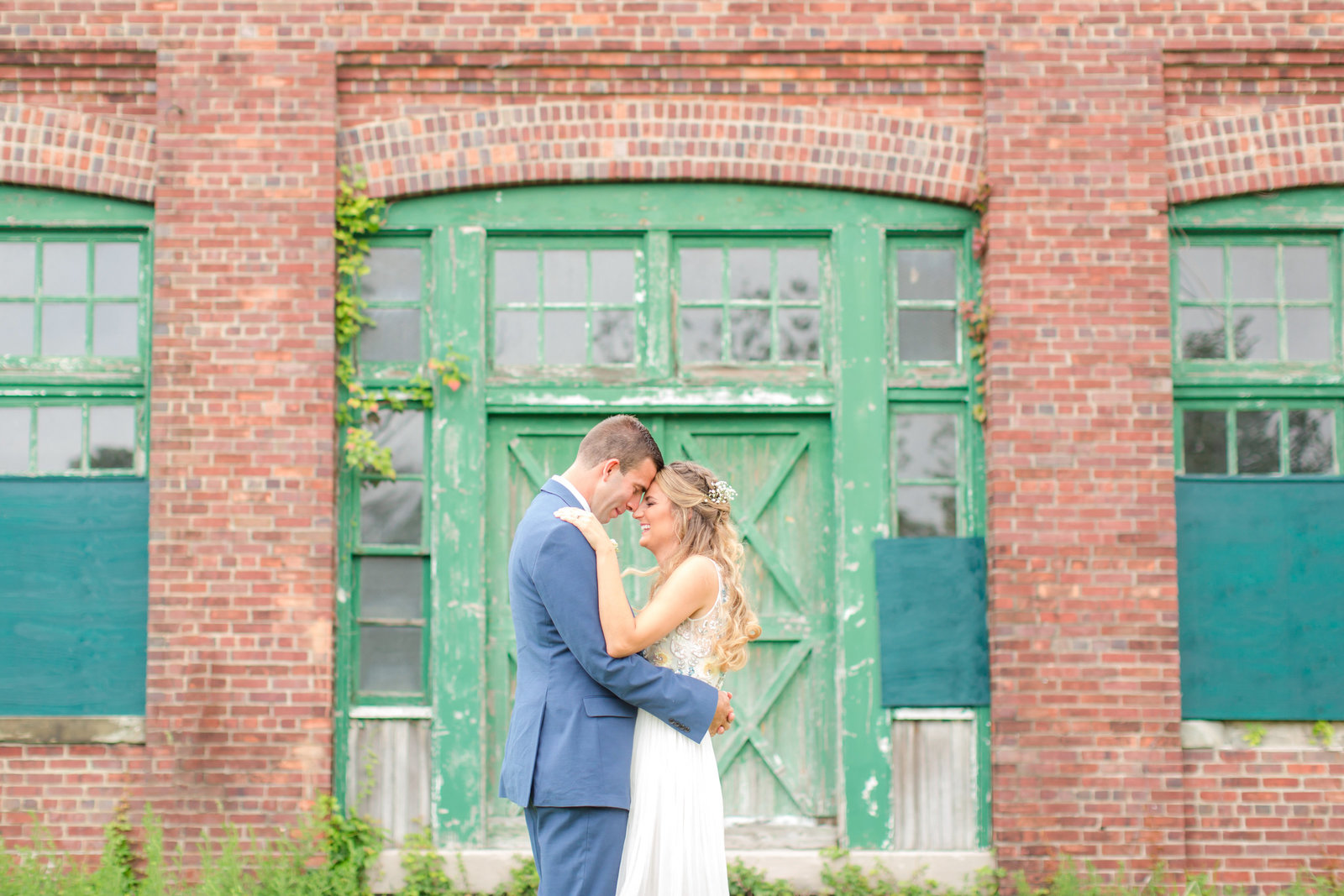 Sandy Hook Chapel wedding photo