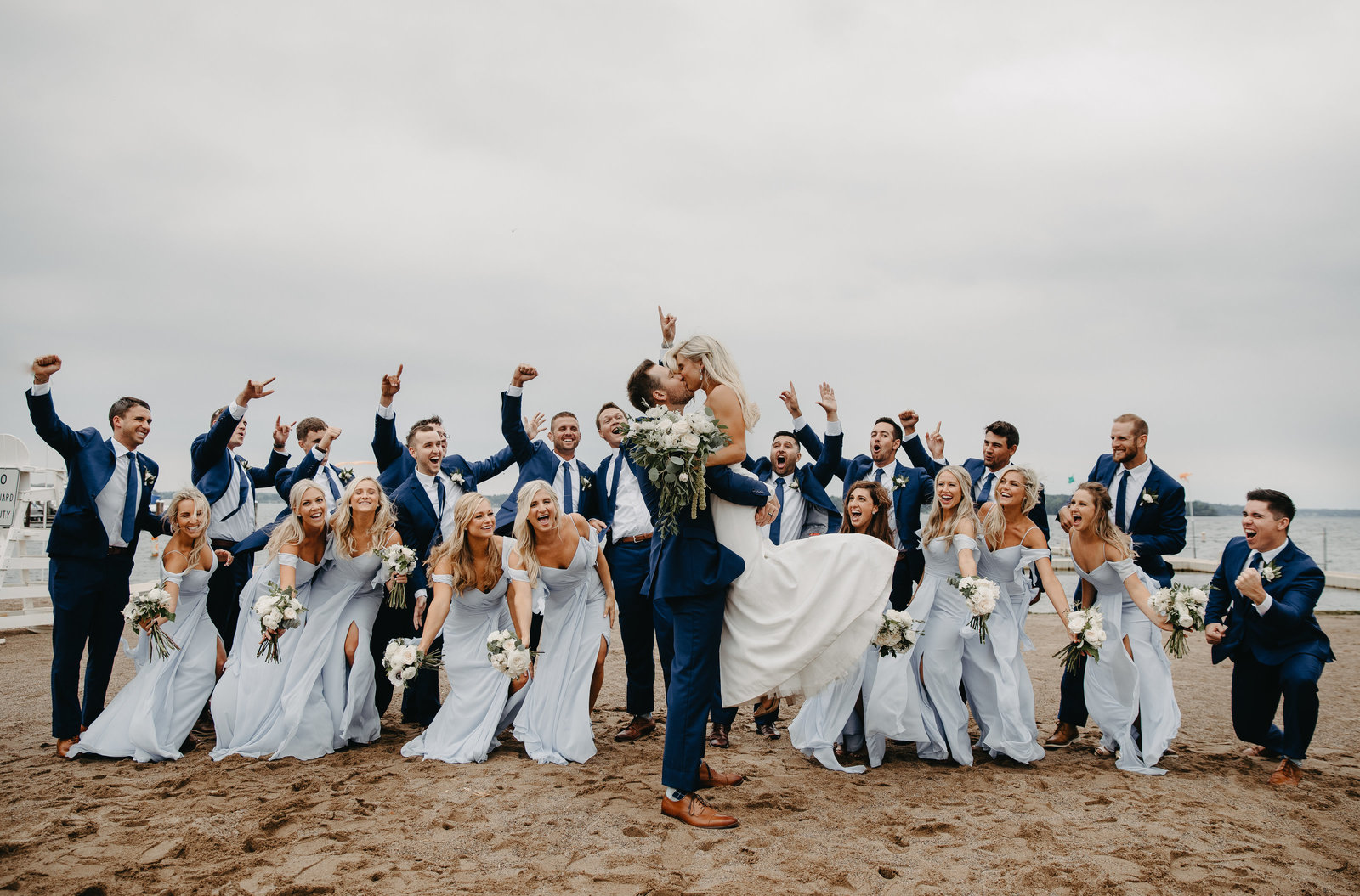 Bridesmaids and Groomsmen in Wayzata, MN