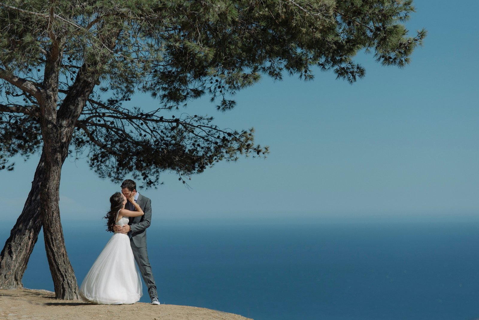 Malibu Beach Wedding Hilltop