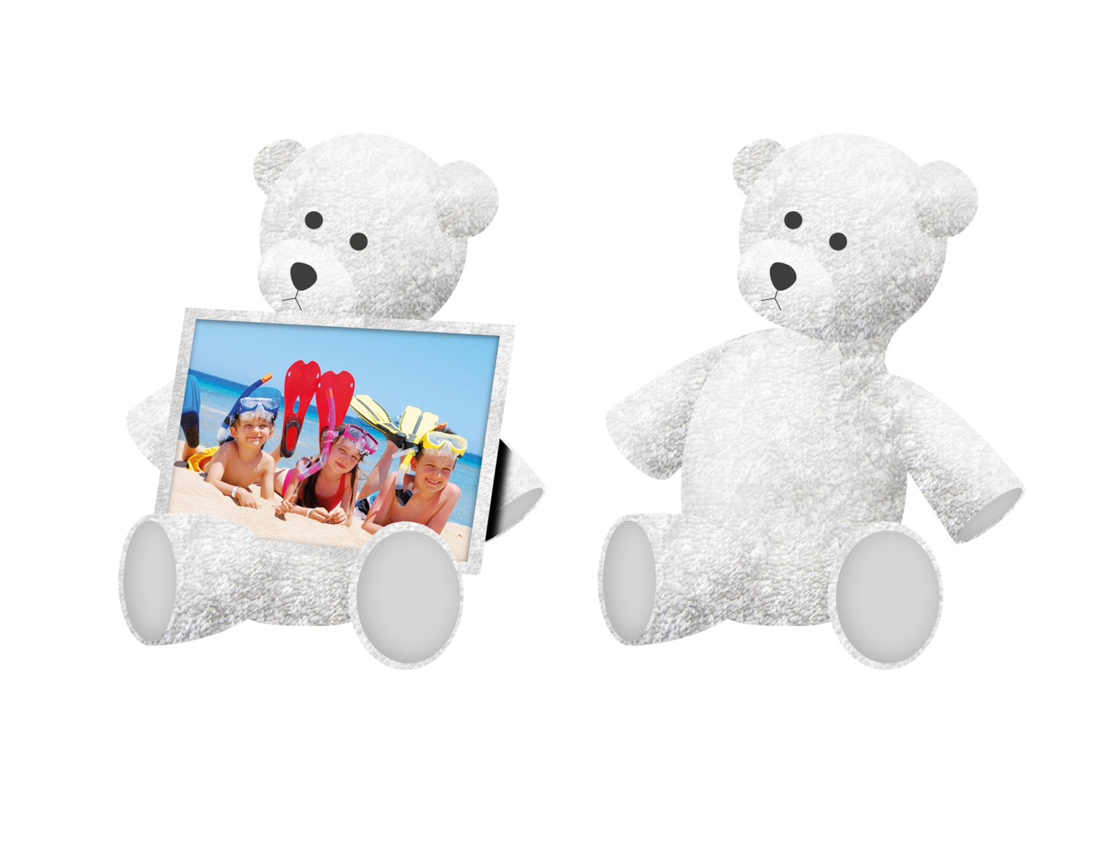 Towel Picture Frame-BEAR-PRESENTATION