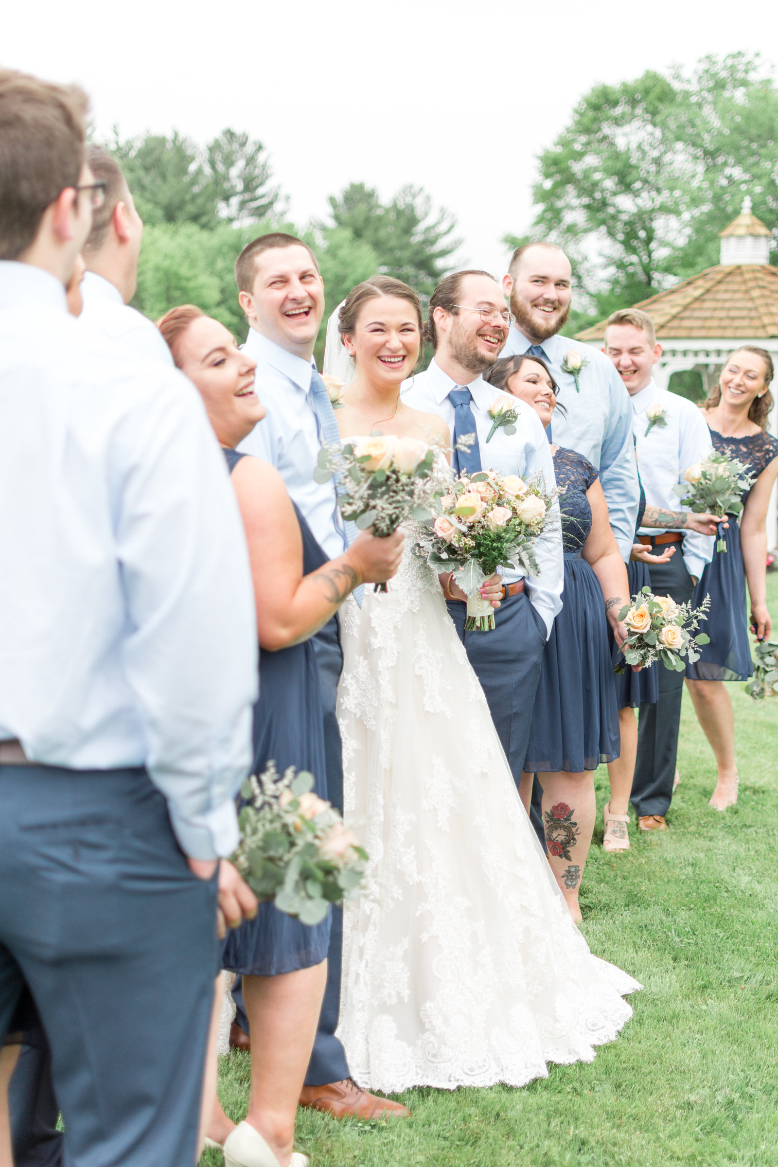 Blissful Meadows Country Club Wedding