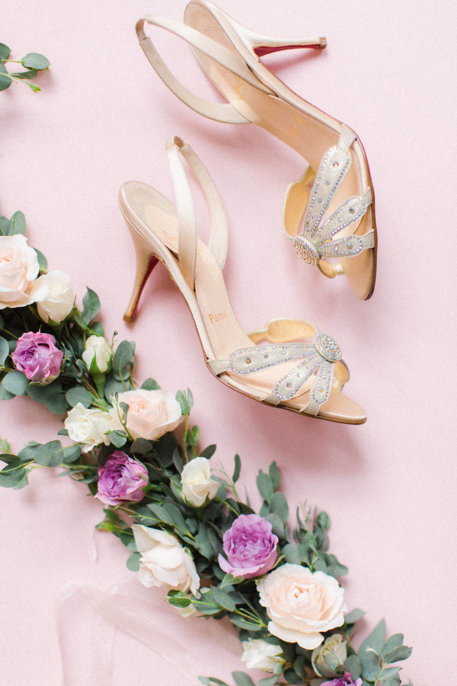 Christa O'Brien Photography Georgia Wedding photographer fine art film  blush details