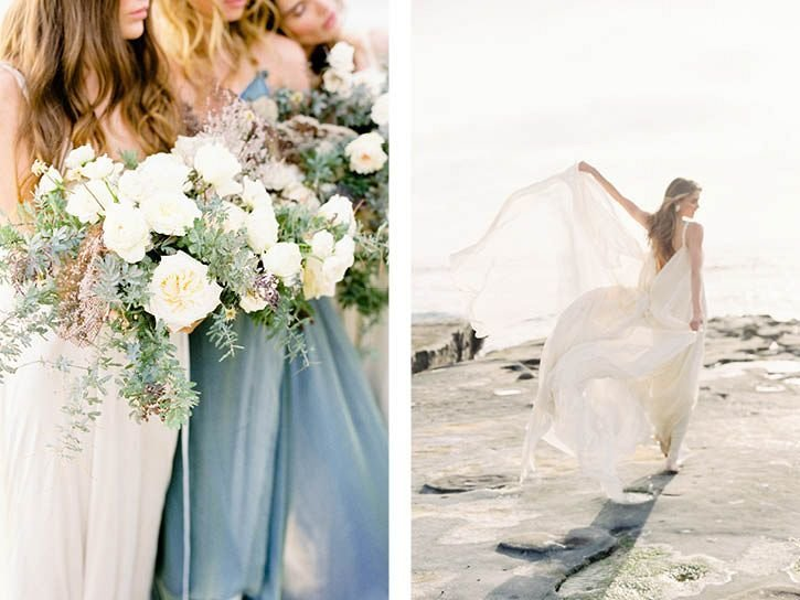 Coastal Beach Wedding Inspiration- Ashley Rae Photography Arizona and California Film Photographer16