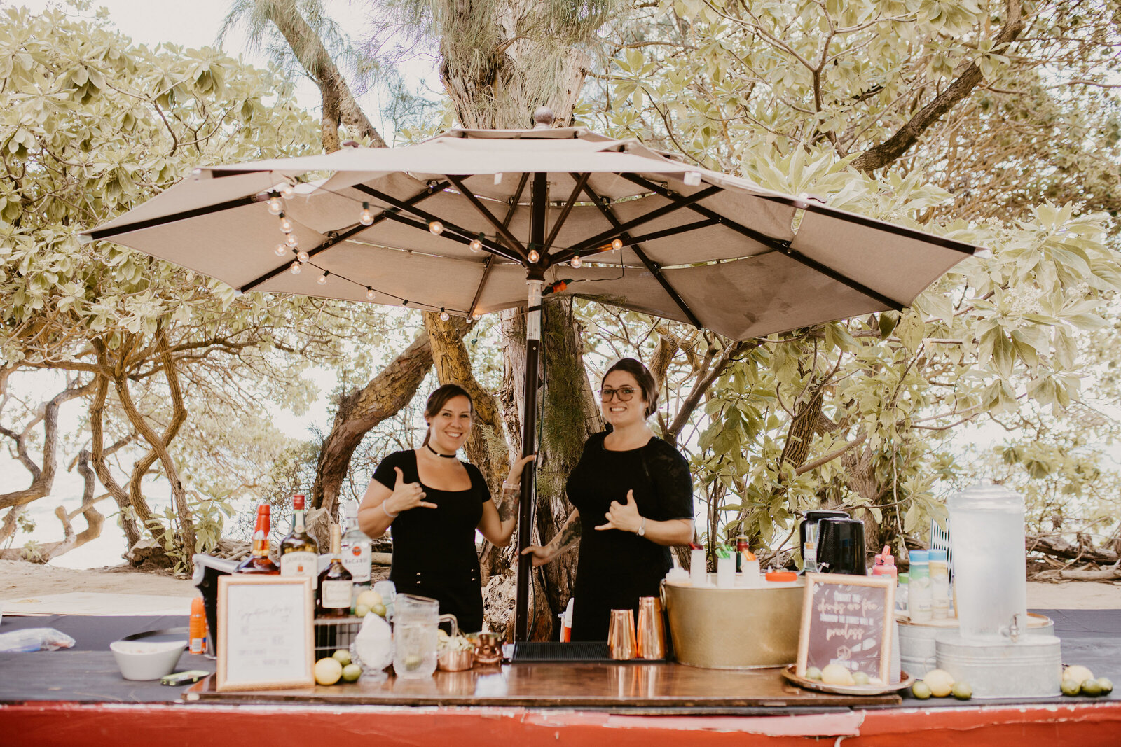 Star Bar Hawaii- Professional Event Bartenders - Wedding Bar Catering