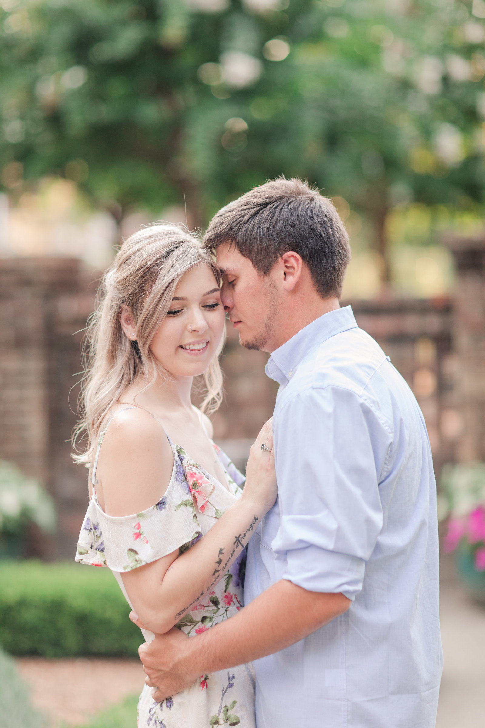 Jennifer B Photography-Sandhills Horticultural Gardens Engagement-Pinehurst NC-Cody and Kayla-2019-0133