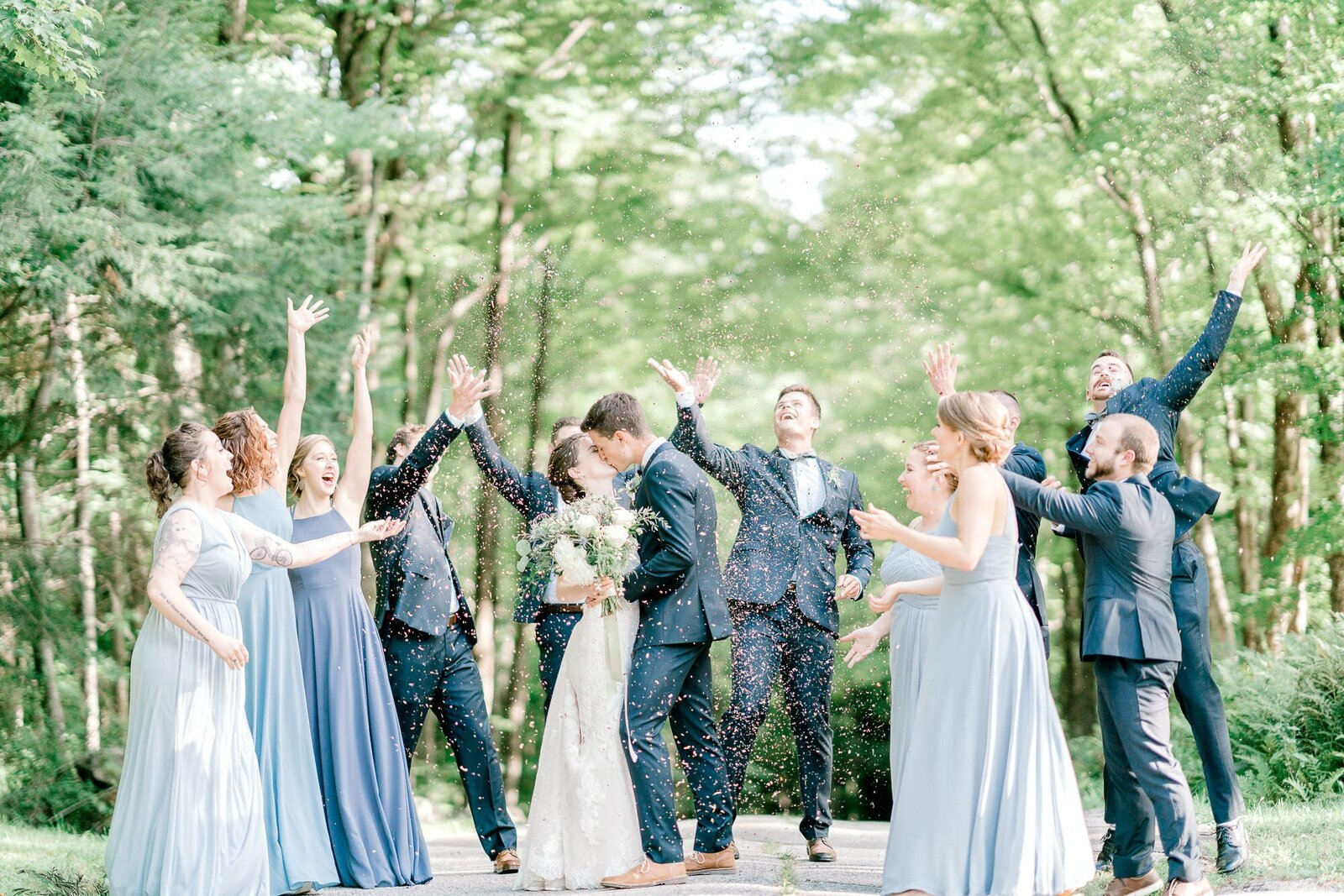 Light and Airy White Mountains NH Wedding-1-2