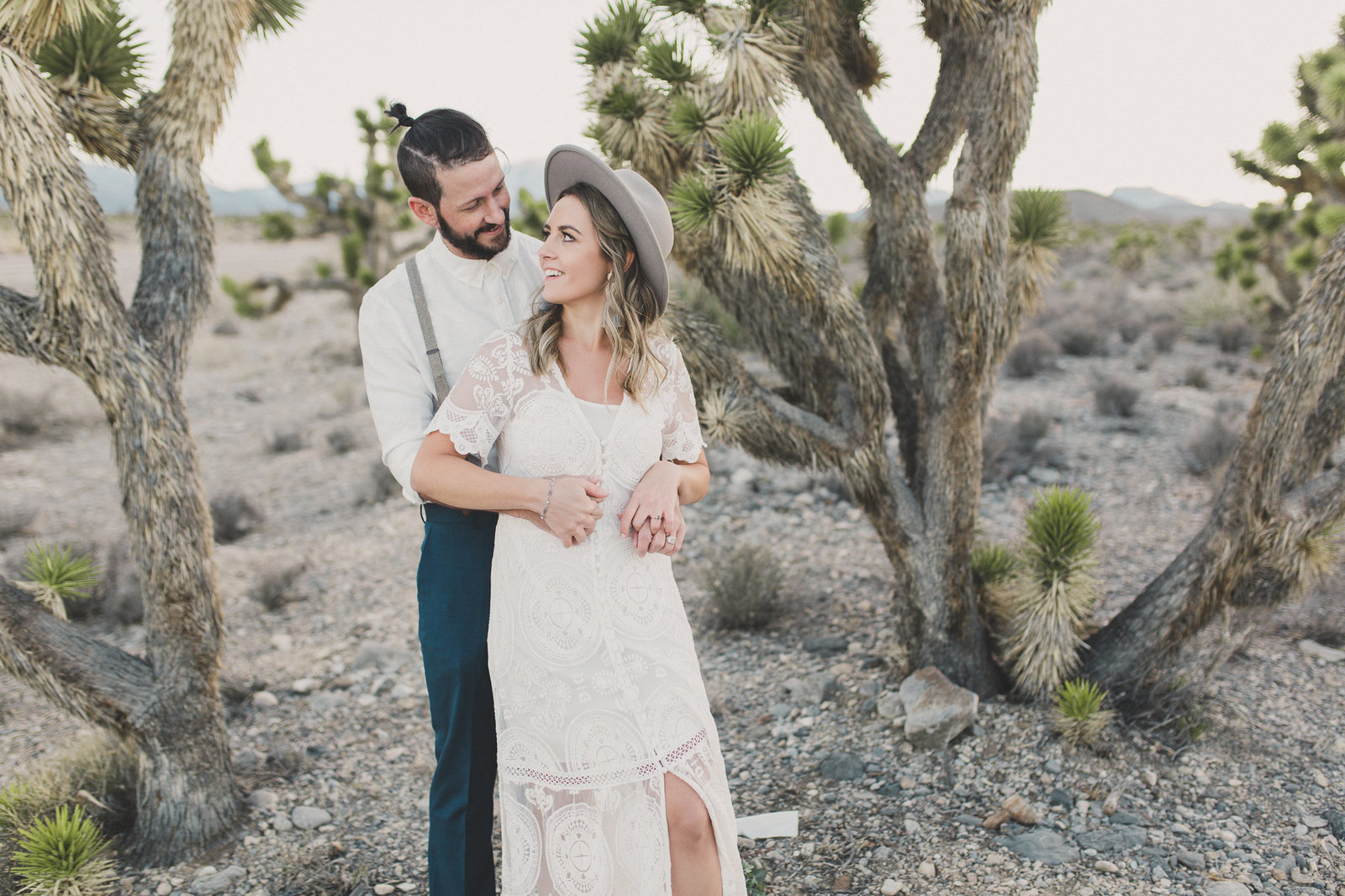 International Destination Elopement on Mt Charleston