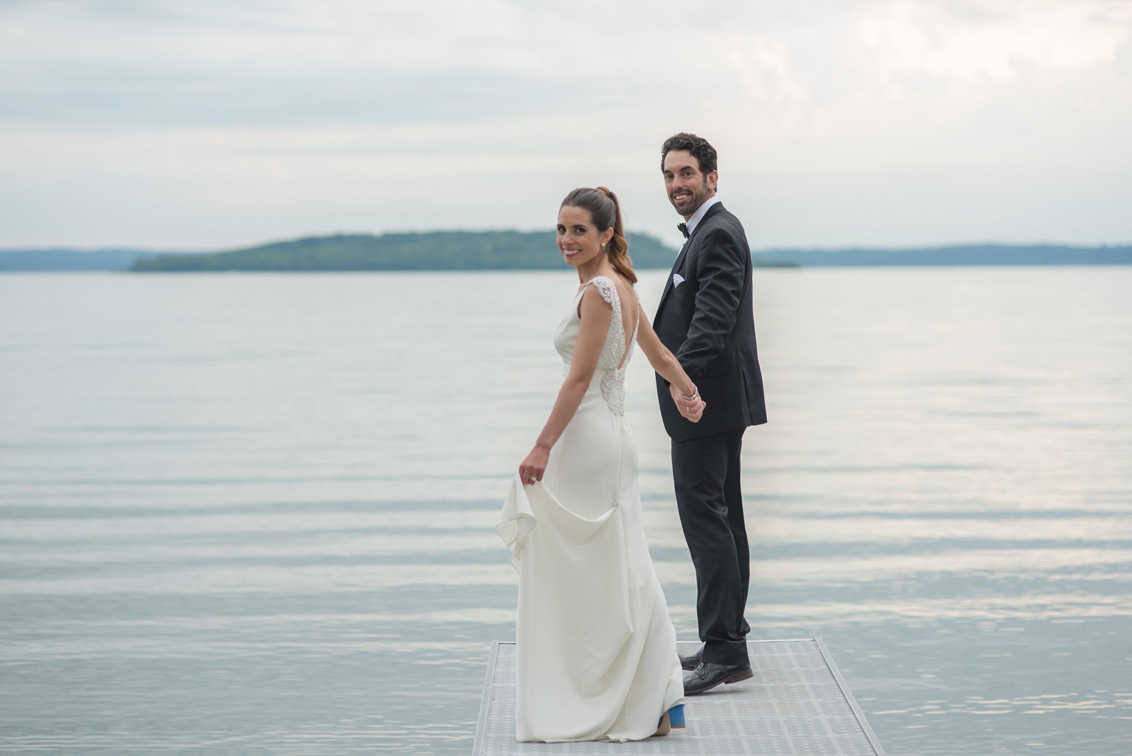 candid and beautiful wedding photography, traverse city michigan
