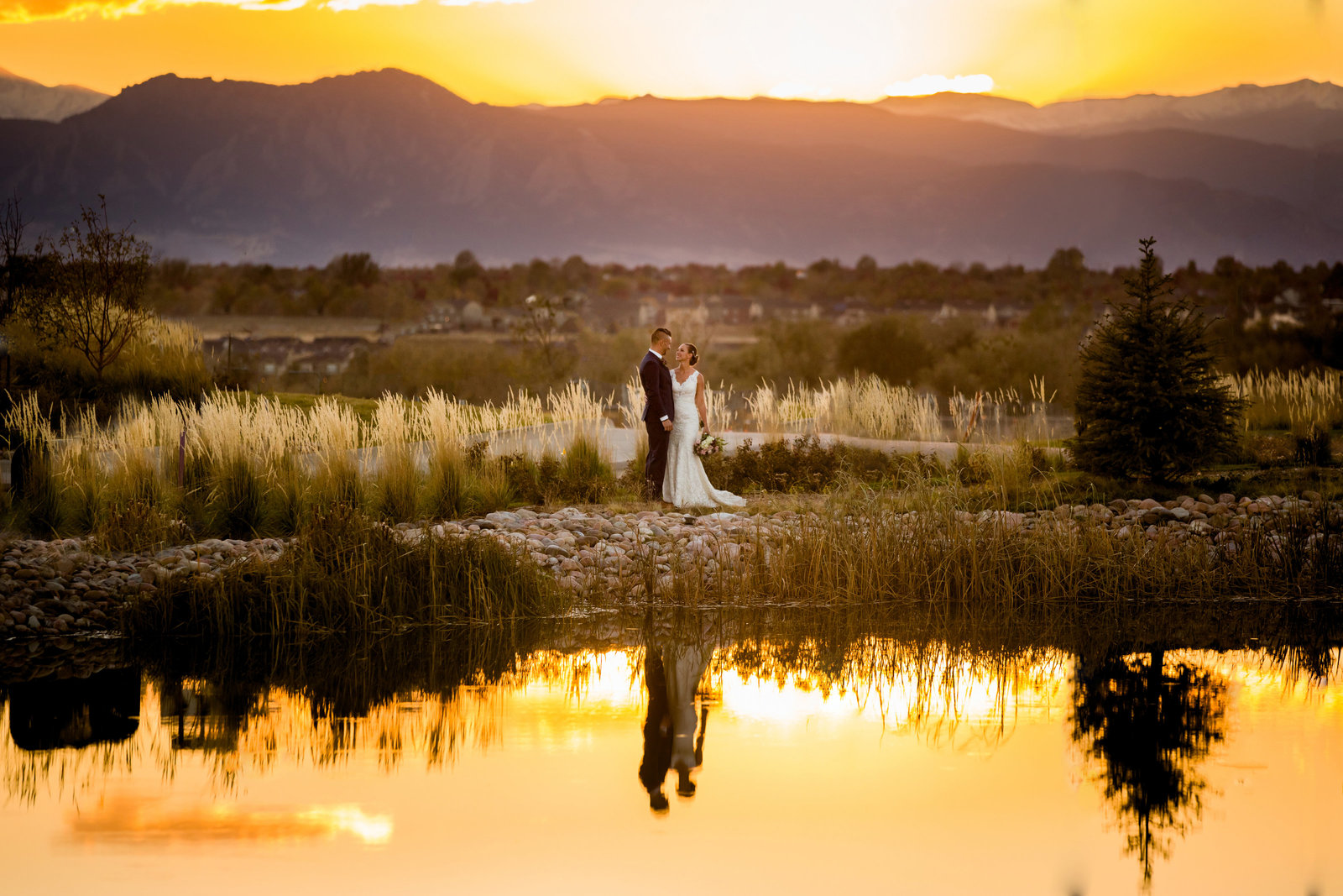 sunset-wedding-photos-denver-colorado