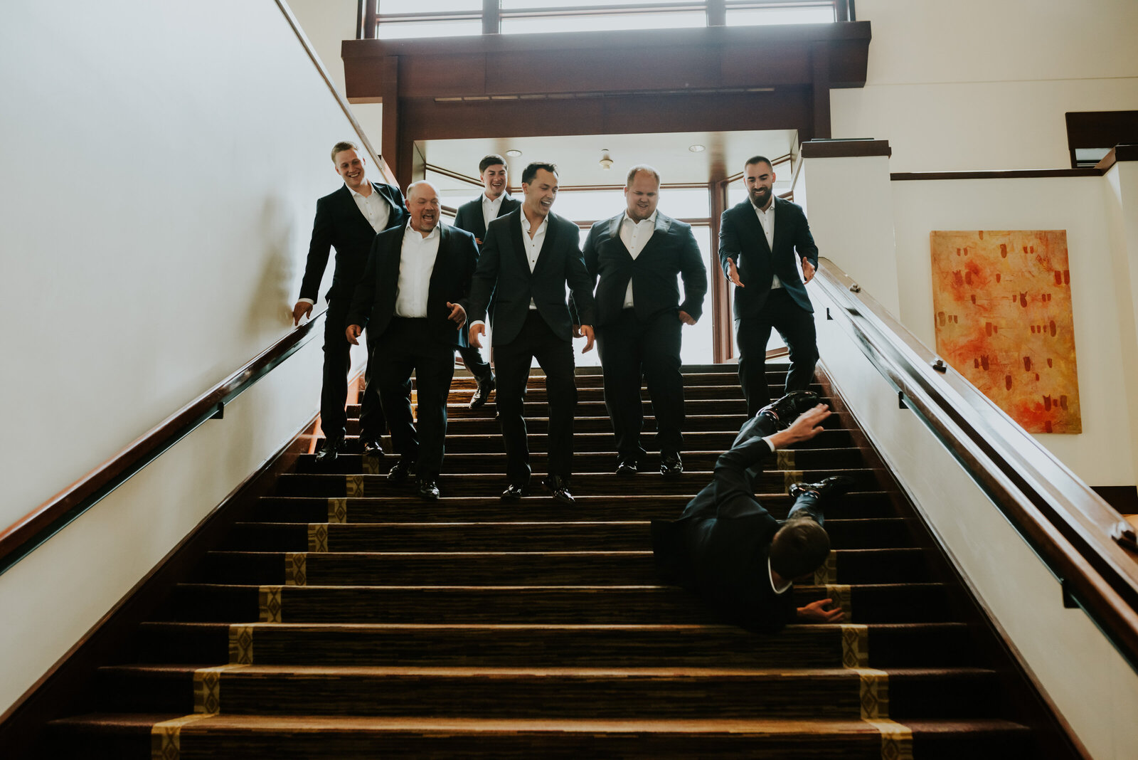 Chelsa J. Photography Groomsman Fun