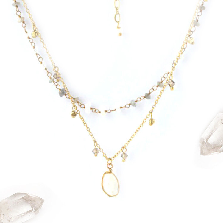 Fair Anita Firefly Necklace