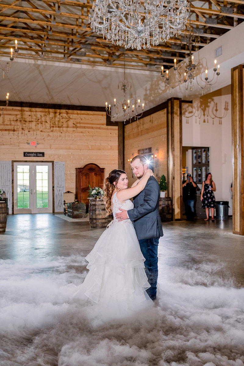 Covington Farm Wedding | Dade City Wedding Photographer | Bride and Groom First Dance-2