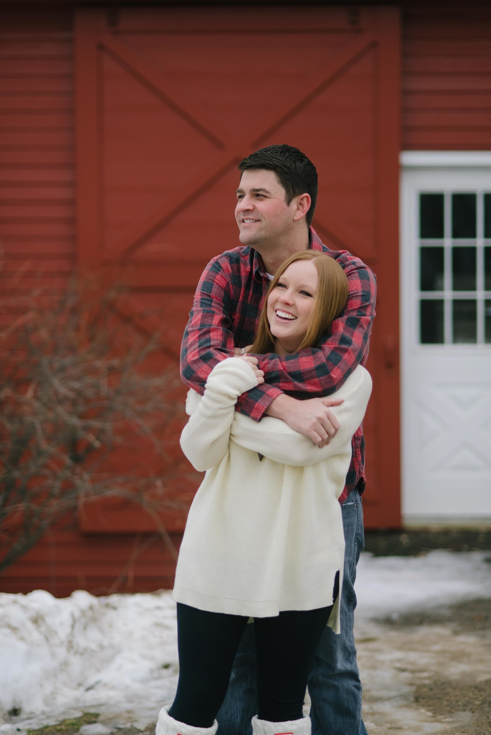Minnesota Winter Engagement Photos 1170