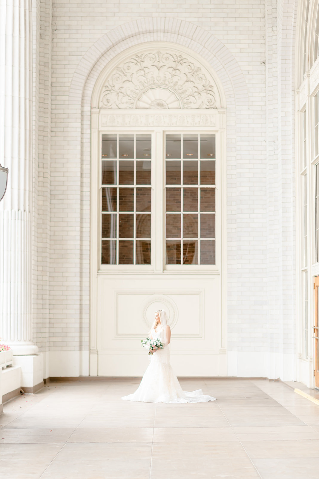 bride at union station dallas