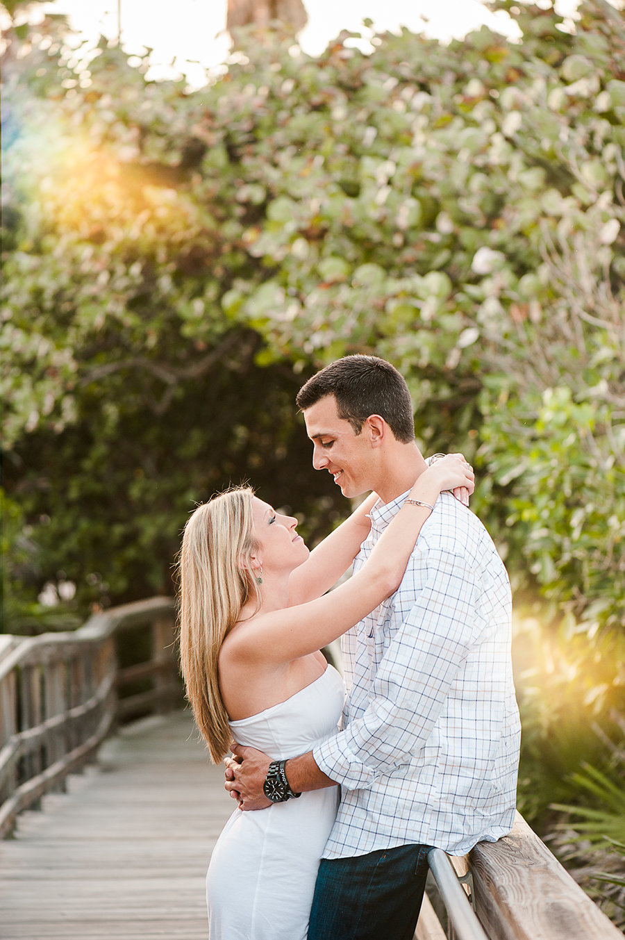 Palm Beach Engagement Photography by Palm Beach Photography, Inc.