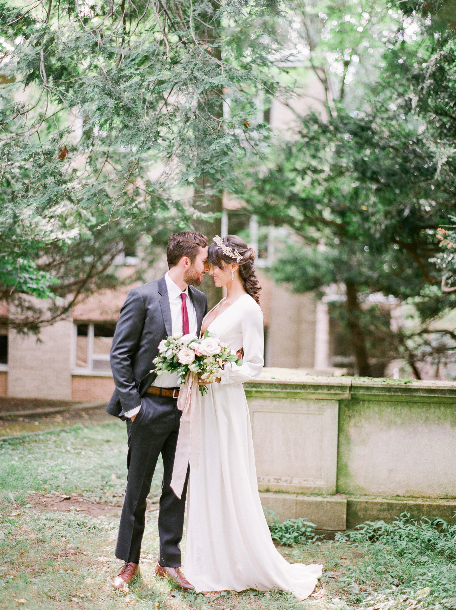 Christa O'Brien Photography Georgia Wedding photographer fine art film  nyc wedding alder manor