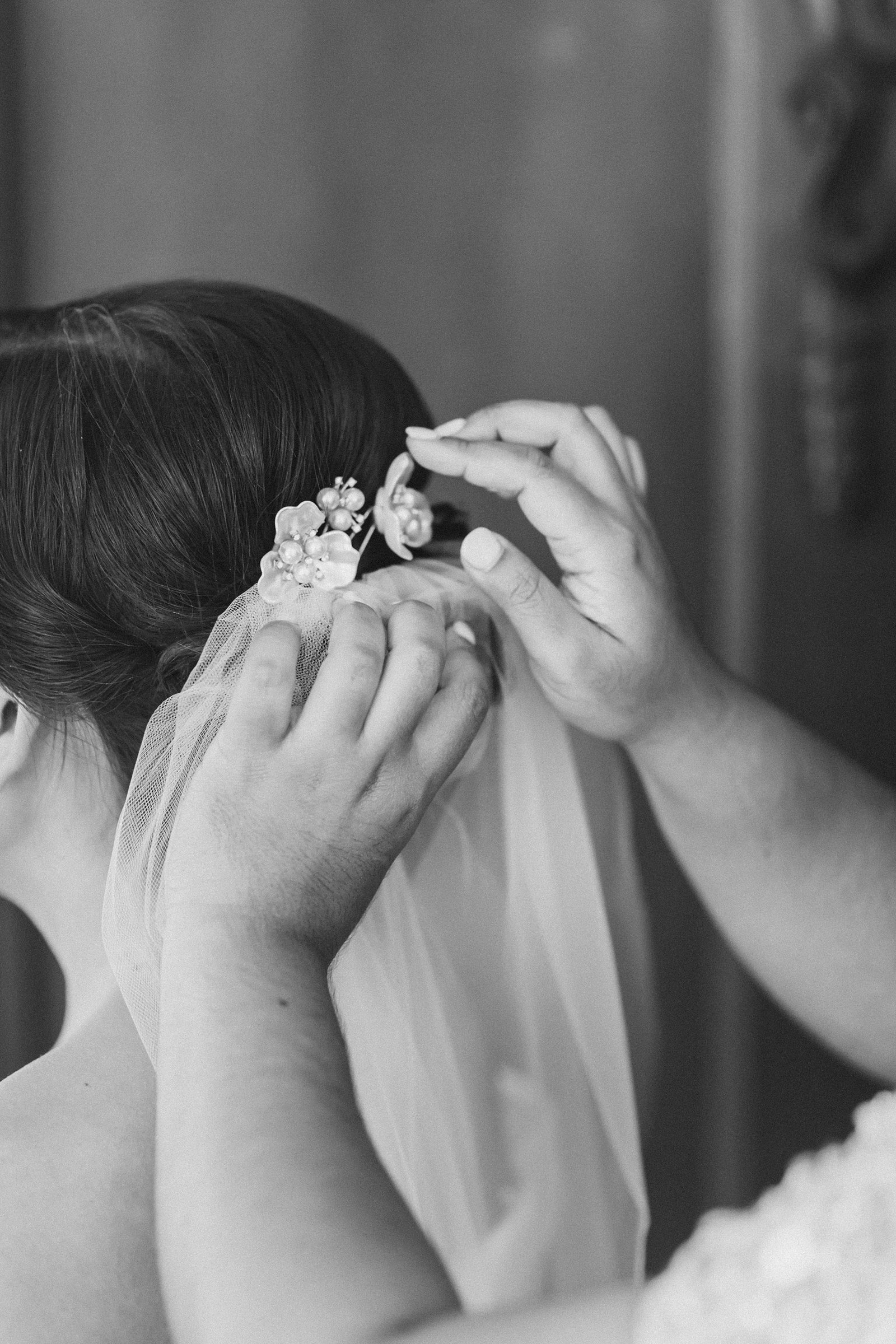 M Harris Studios_Braehead Manor_VA Wedding Photographer_bride veil