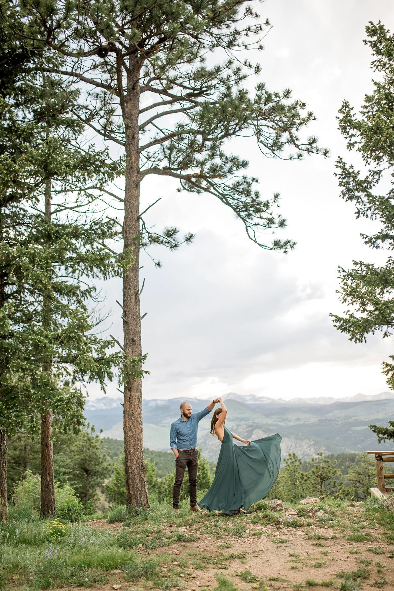 estes park engagement portrait photographer