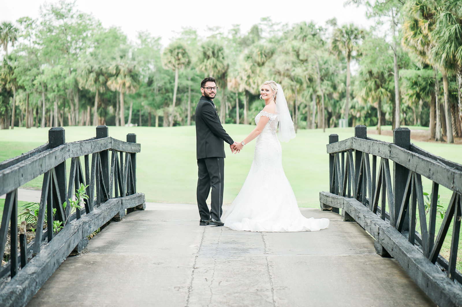 Old Bridge Wedding - Myacoo Country Club Wedding - Palm Beach Wedding Photography by Palm Beach Photography, Inc.