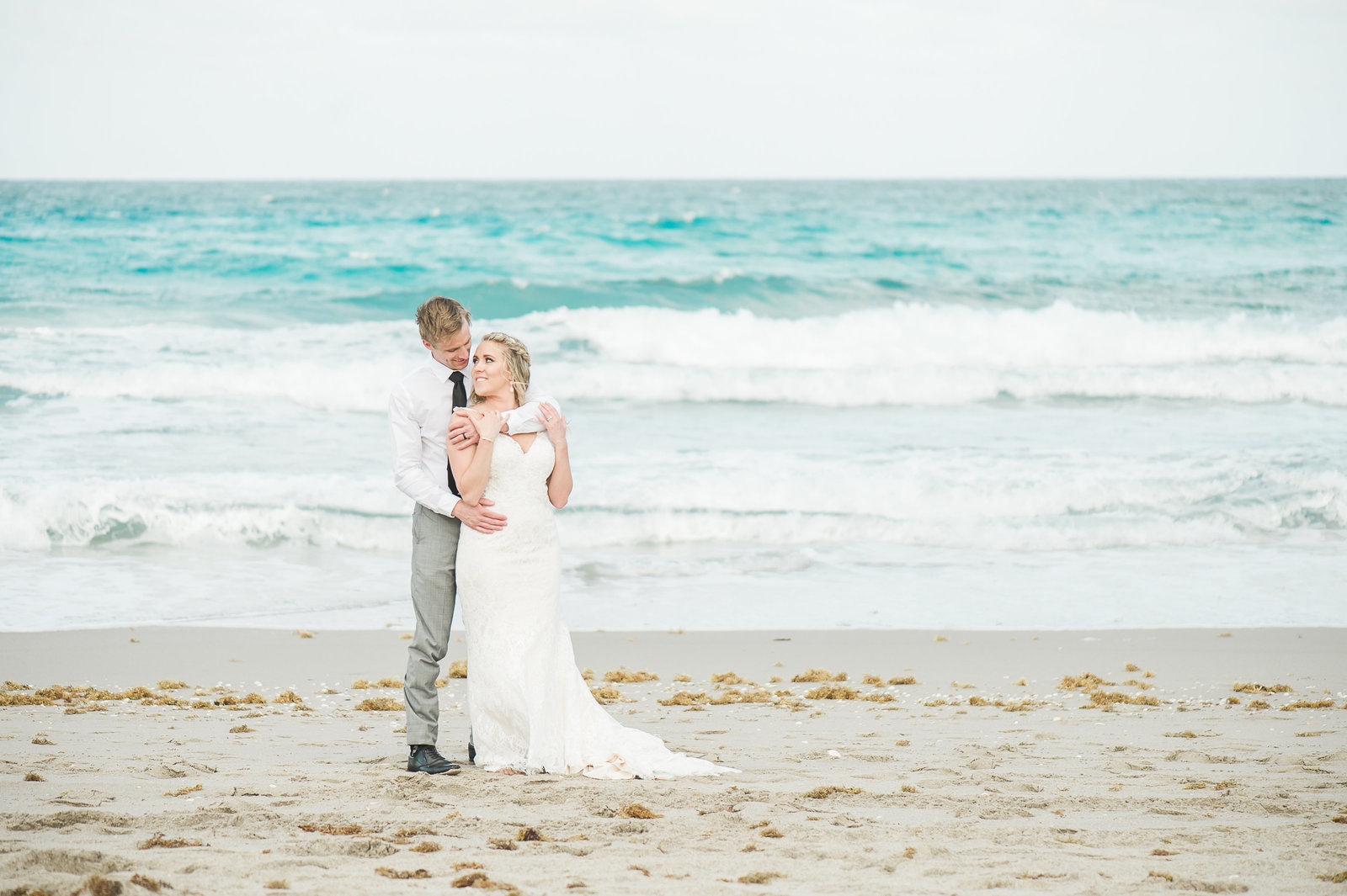 Beach Theme Wedding - Hilton Singer Island Wedding - Palm Beach Wedding Photography by Palm Beach Photography, Inc.