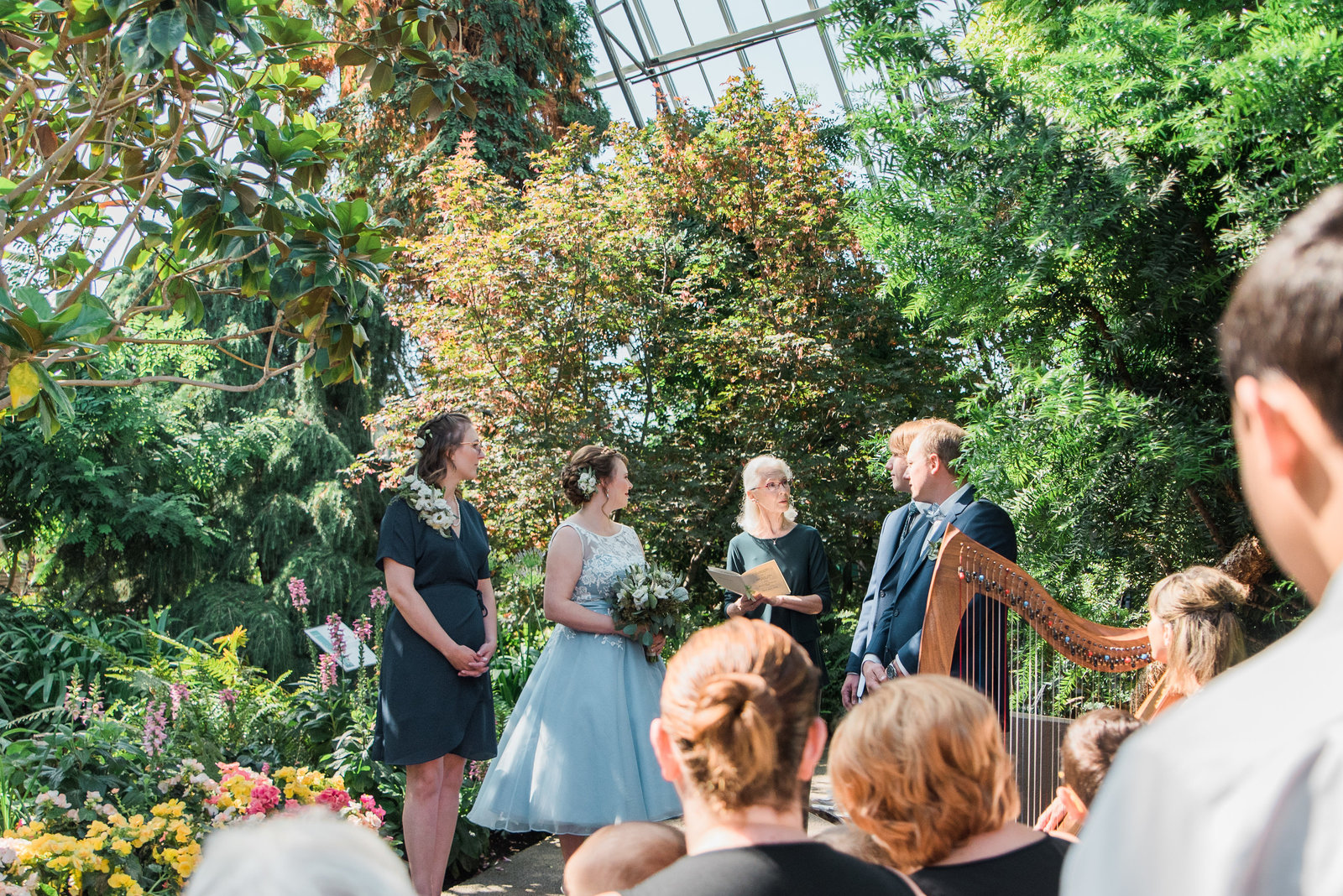 Muttart Conservatory Wedding - Edmonton Wedding Photographer25