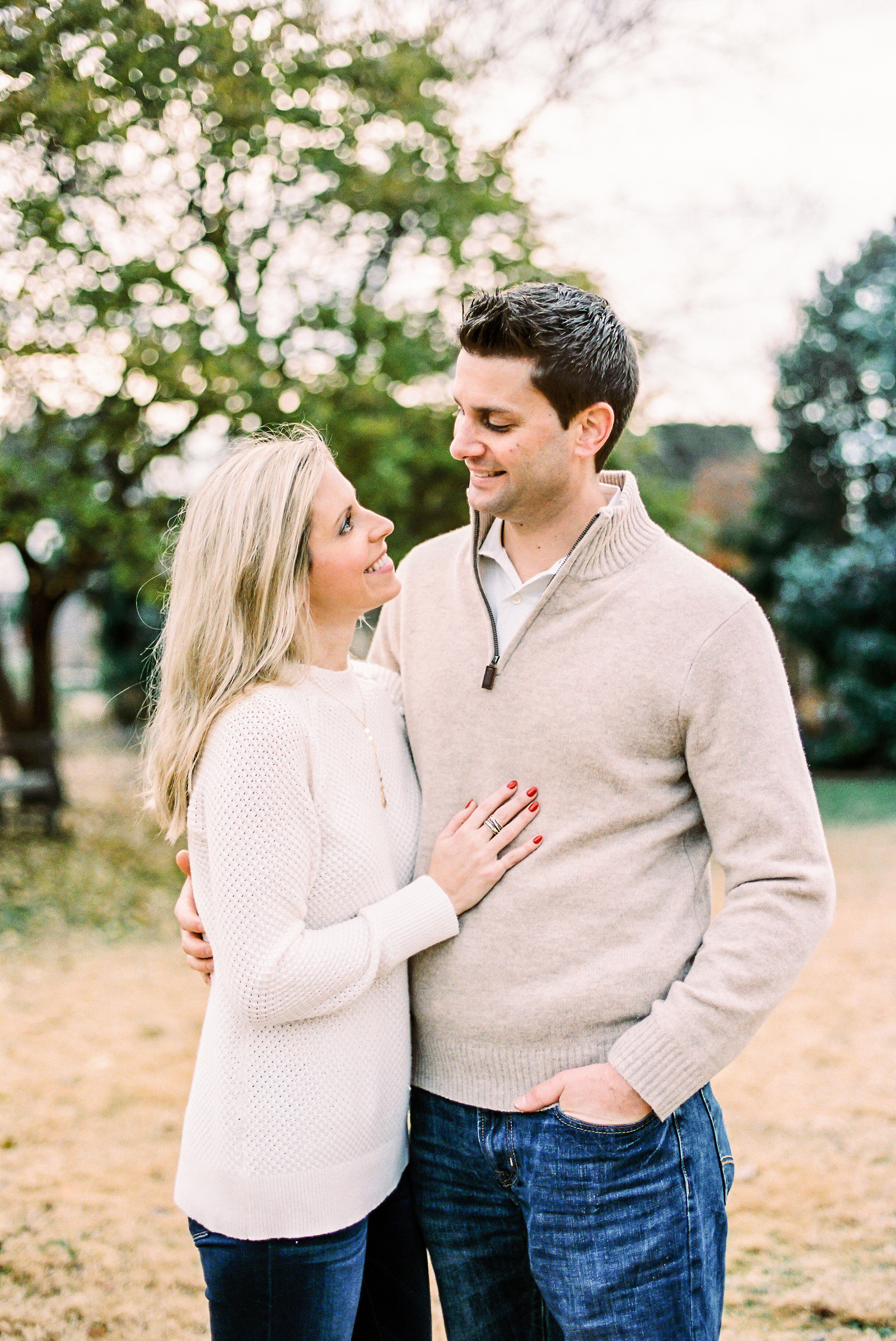 Raleigh Couples Portrait Film Photography