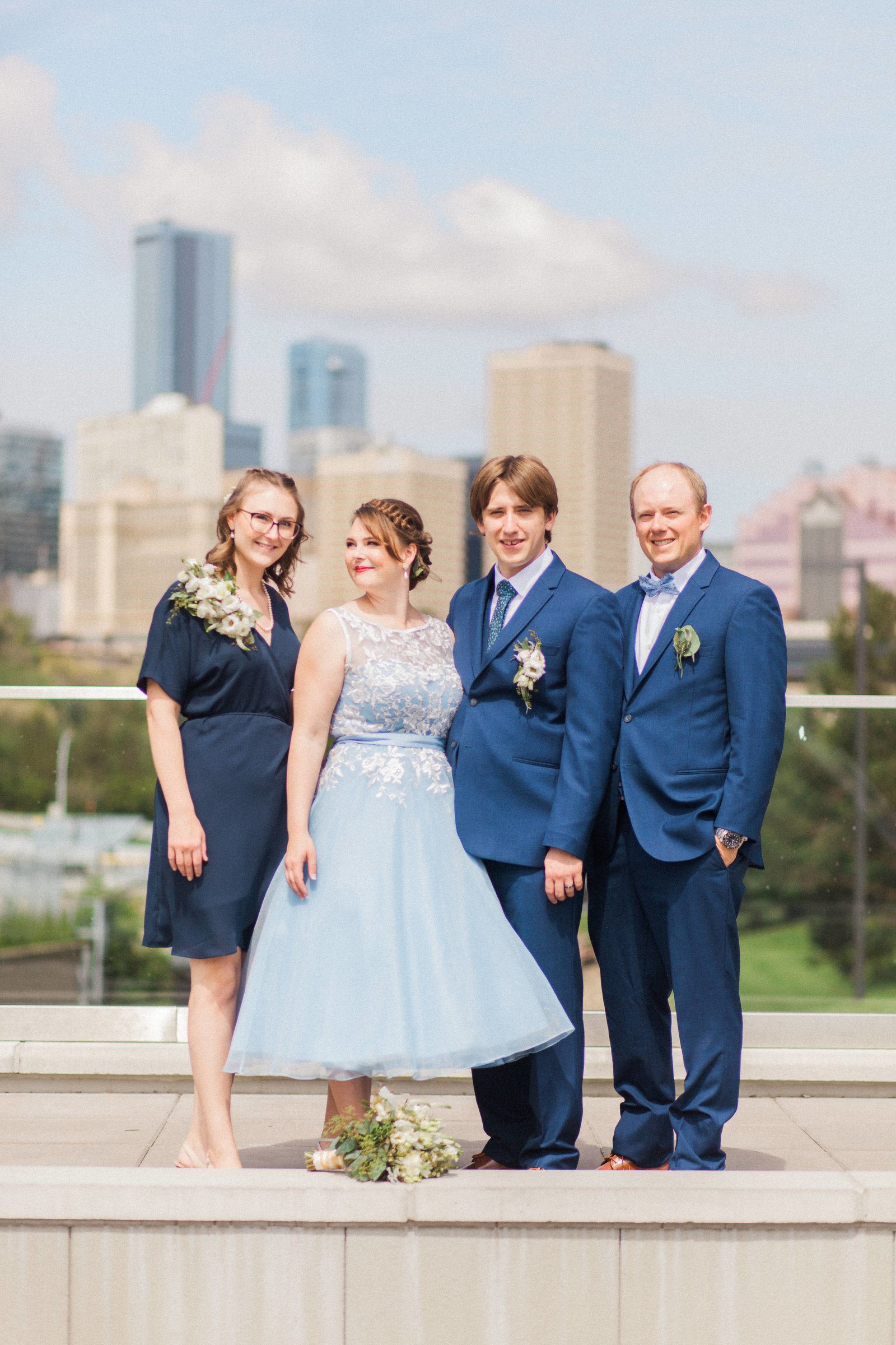 Muttart Conservatory Wedding - Edmonton Wedding Photographer29