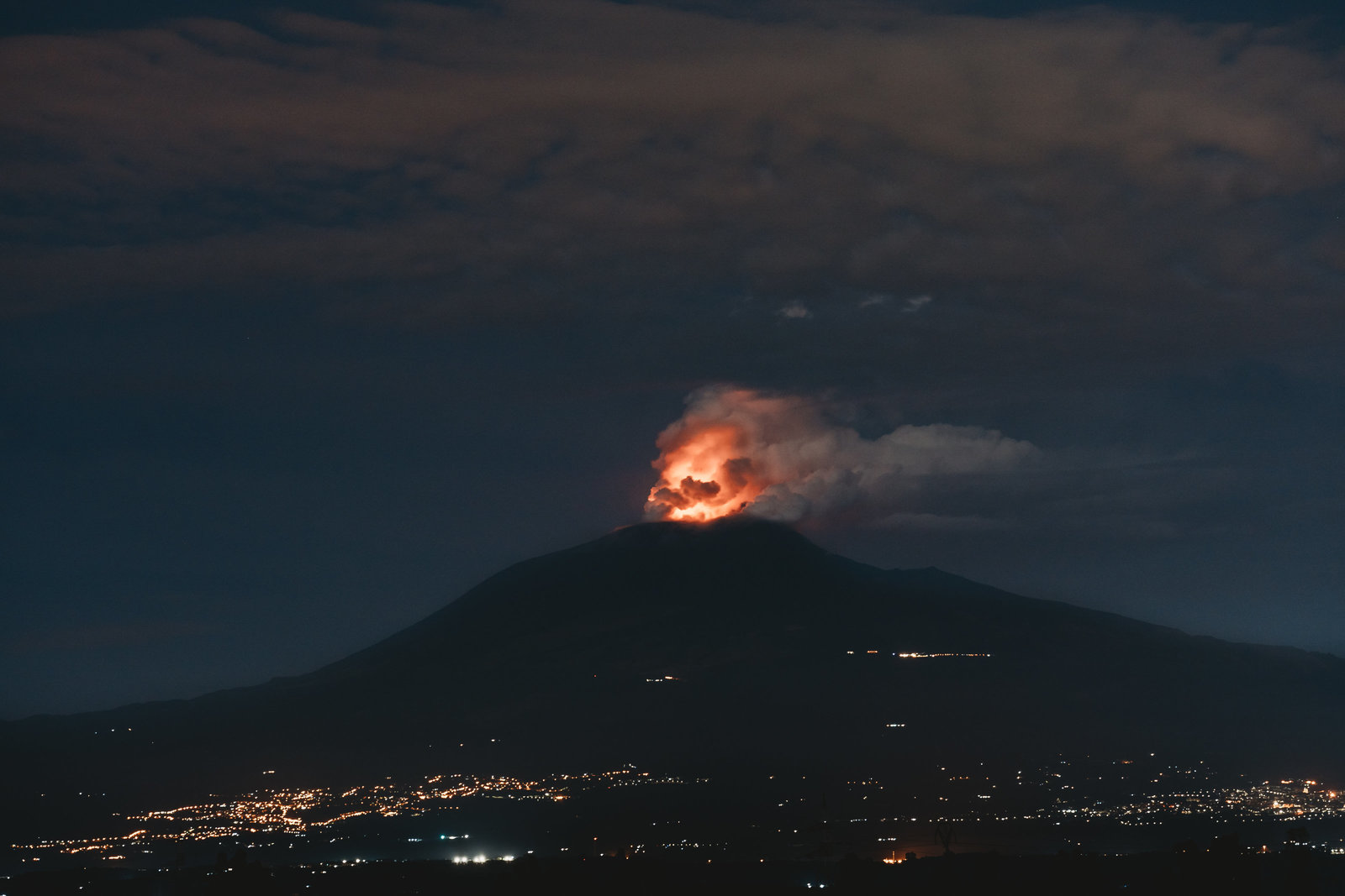 Etna Eruption Sept 2019-2