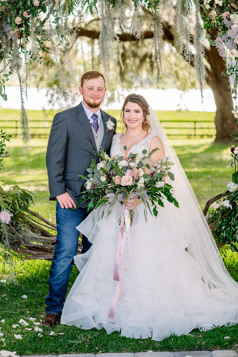 Covington Farm Wedding Photographer | Dade City Wedding Photographer | Bride and Groom-6