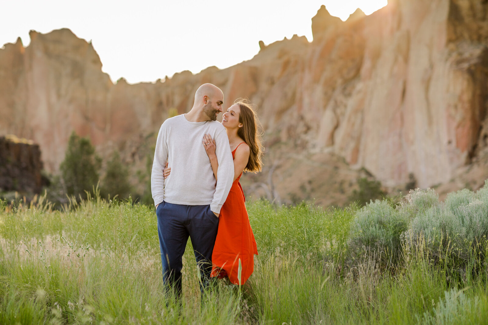 Smith Rock State Park Engagement