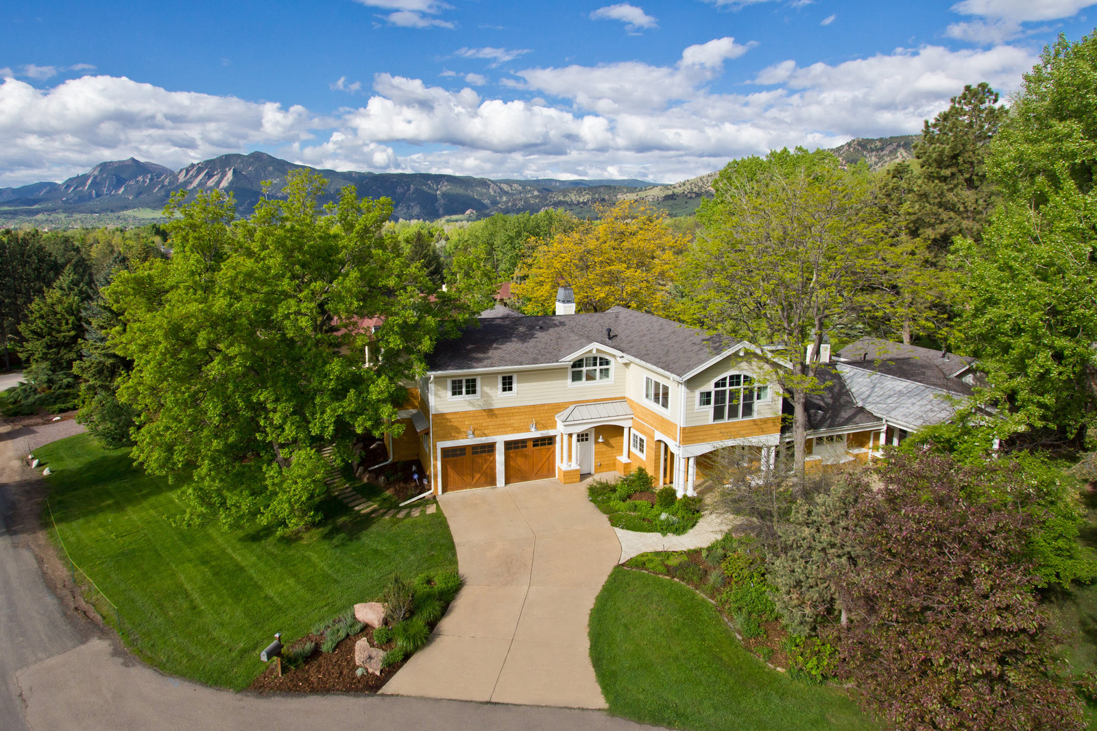 Boulder Colorado Aerial Photo Home 11